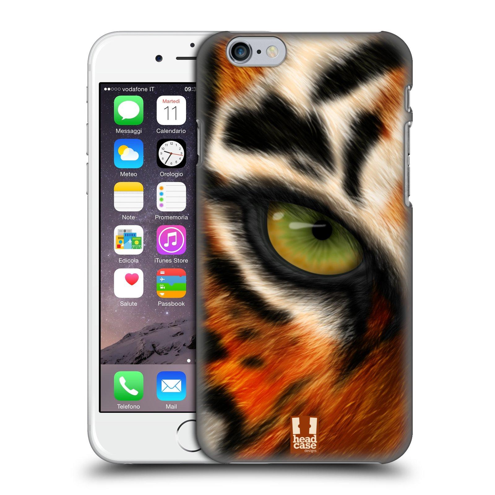 Plastové pouzdro pro mobil Apple Iphone 6/6S vzor pohled zvířete oko tygr