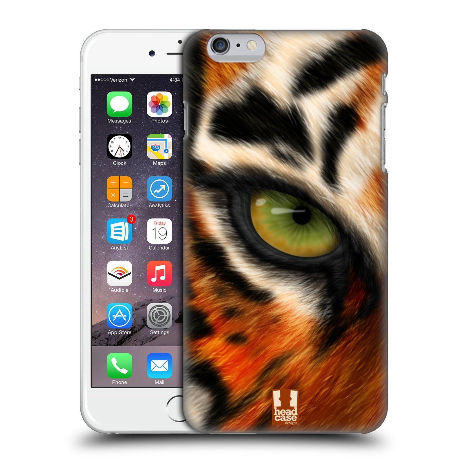 Plastové pouzdro pro mobil Apple Iphone 6 PLUS / 6S PLUS vzor pohled zvířete oko tygr