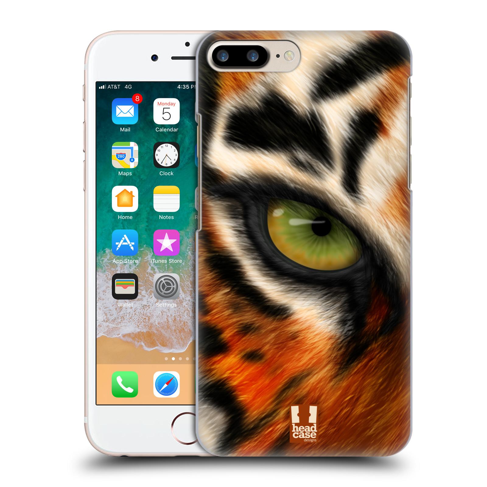 HEAD CASE plastový obal na mobil Apple Iphone 7 PLUS vzor pohled zvířete oko tygr