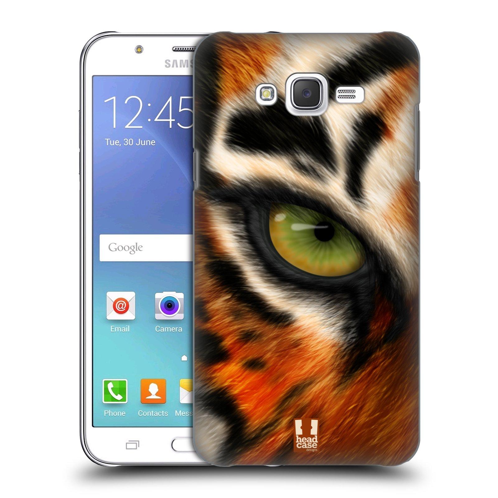 HEAD CASE plastový obal na mobil SAMSUNG Galaxy J7, J700 vzor pohled zvířete oko tygr