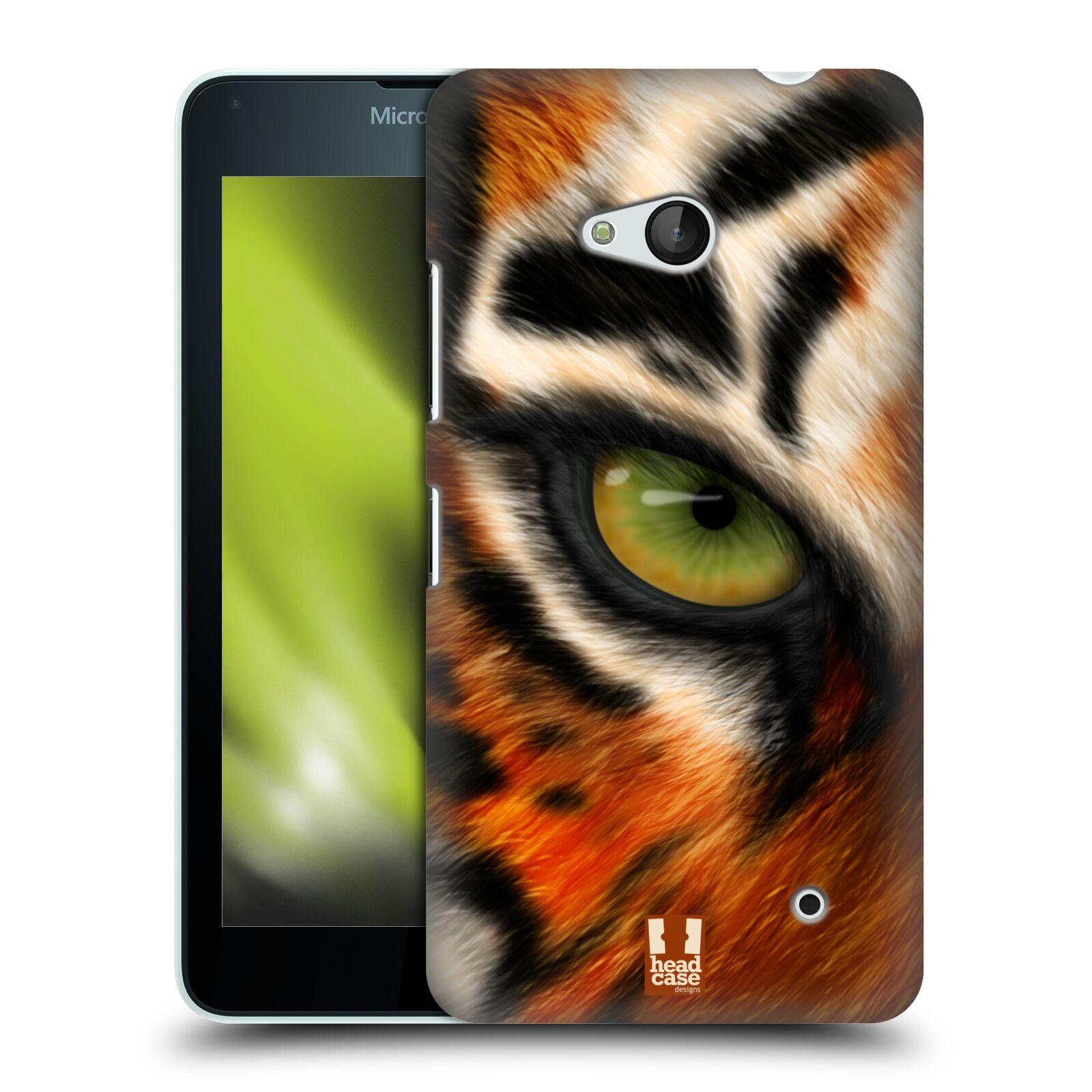 HEAD CASE plastový obal na mobil Nokia Lumia 640 vzor pohled zvířete oko tygr