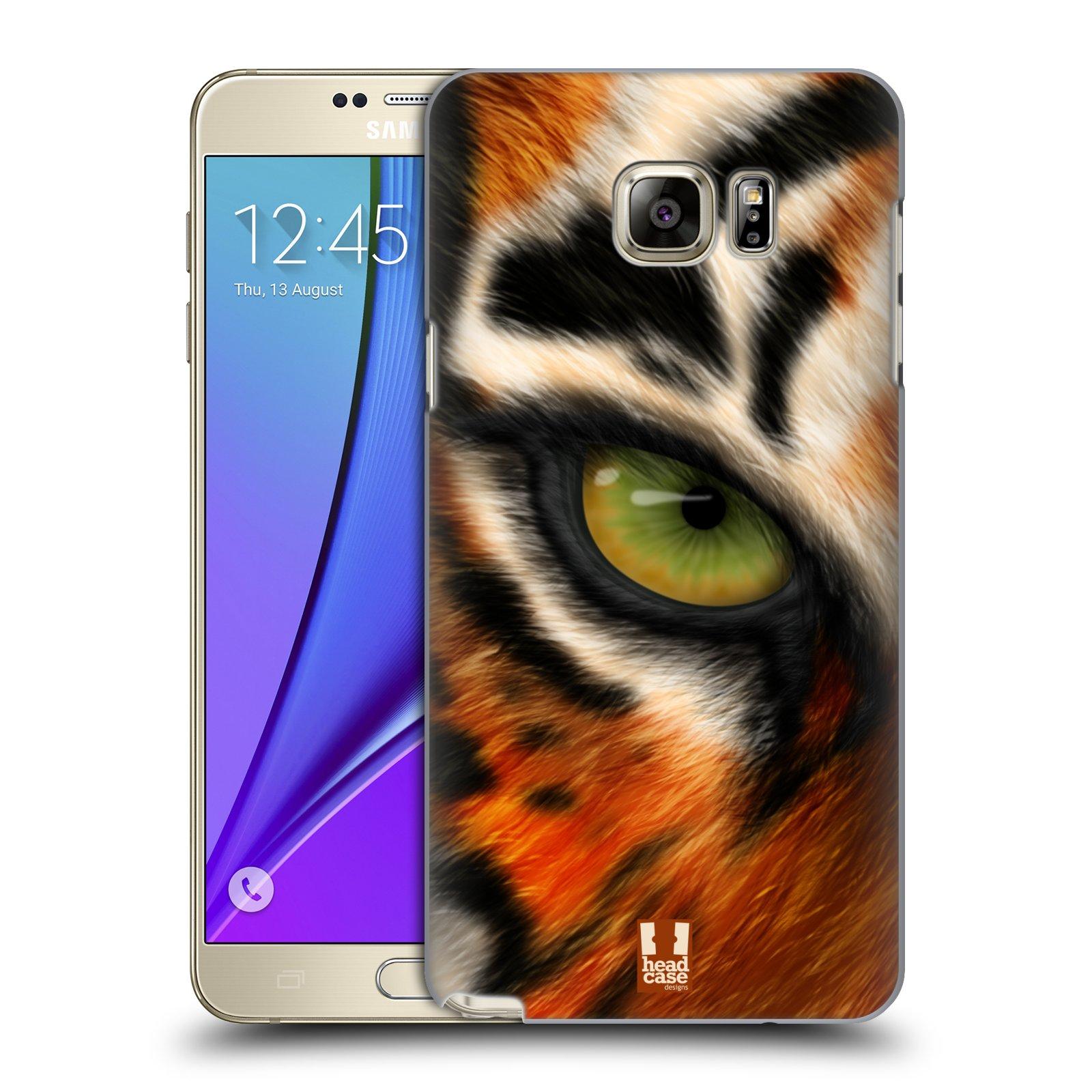 HEAD CASE plastový obal na mobil SAMSUNG Galaxy Note 5 (N920) vzor pohled zvířete oko tygr