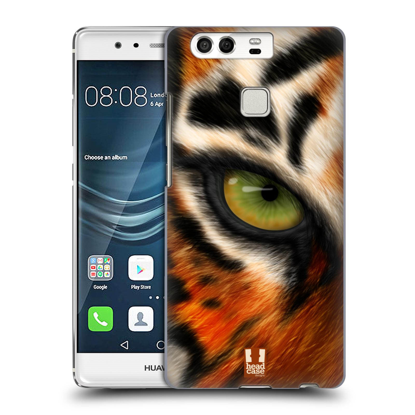 HEAD CASE plastový obal na mobil Huawei P9 / P9 DUAL SIM vzor pohled zvířete oko tygr