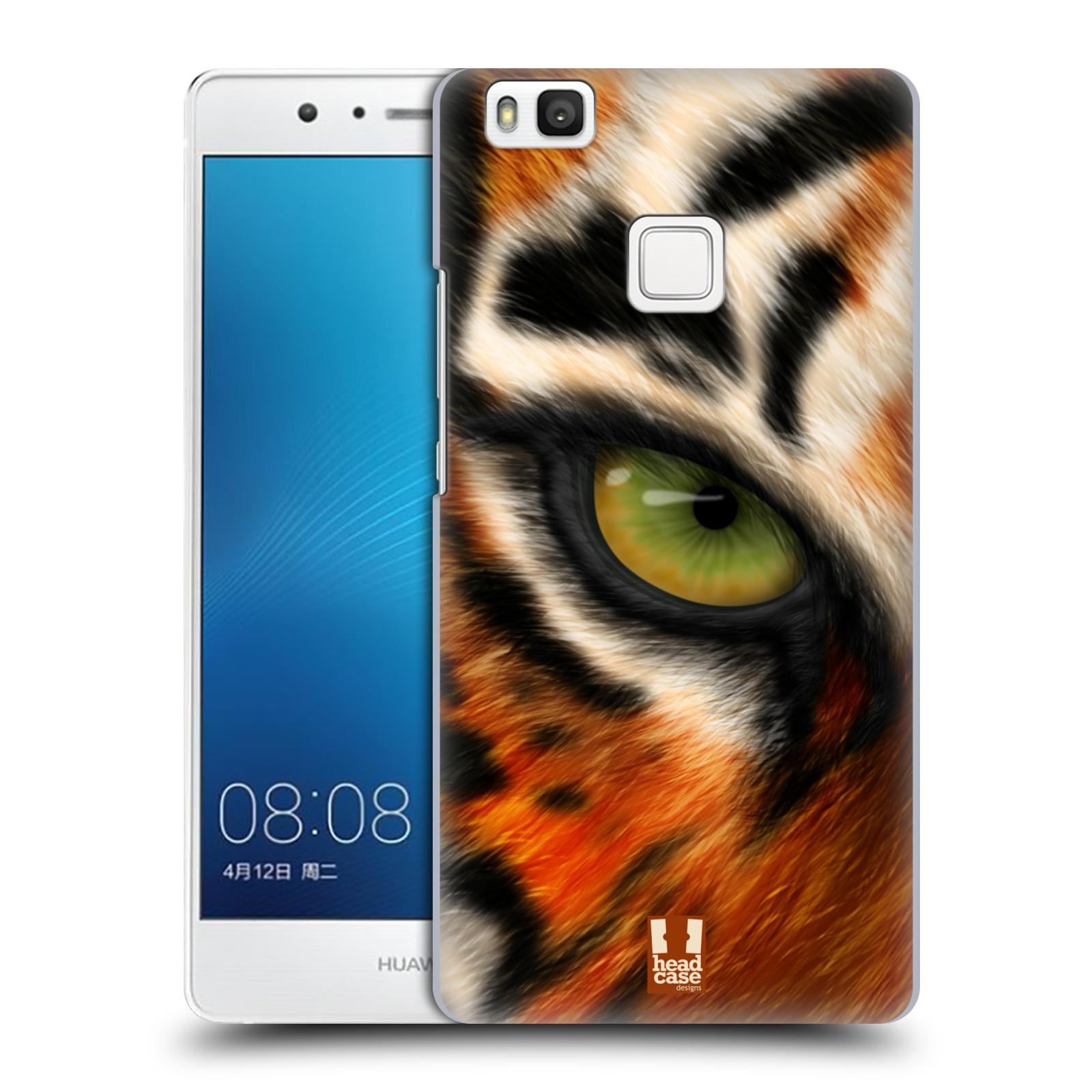 HEAD CASE plastový obal na mobil Huawei P9 LITE / P9 LITE DUAL SIM vzor pohled zvířete oko tygr