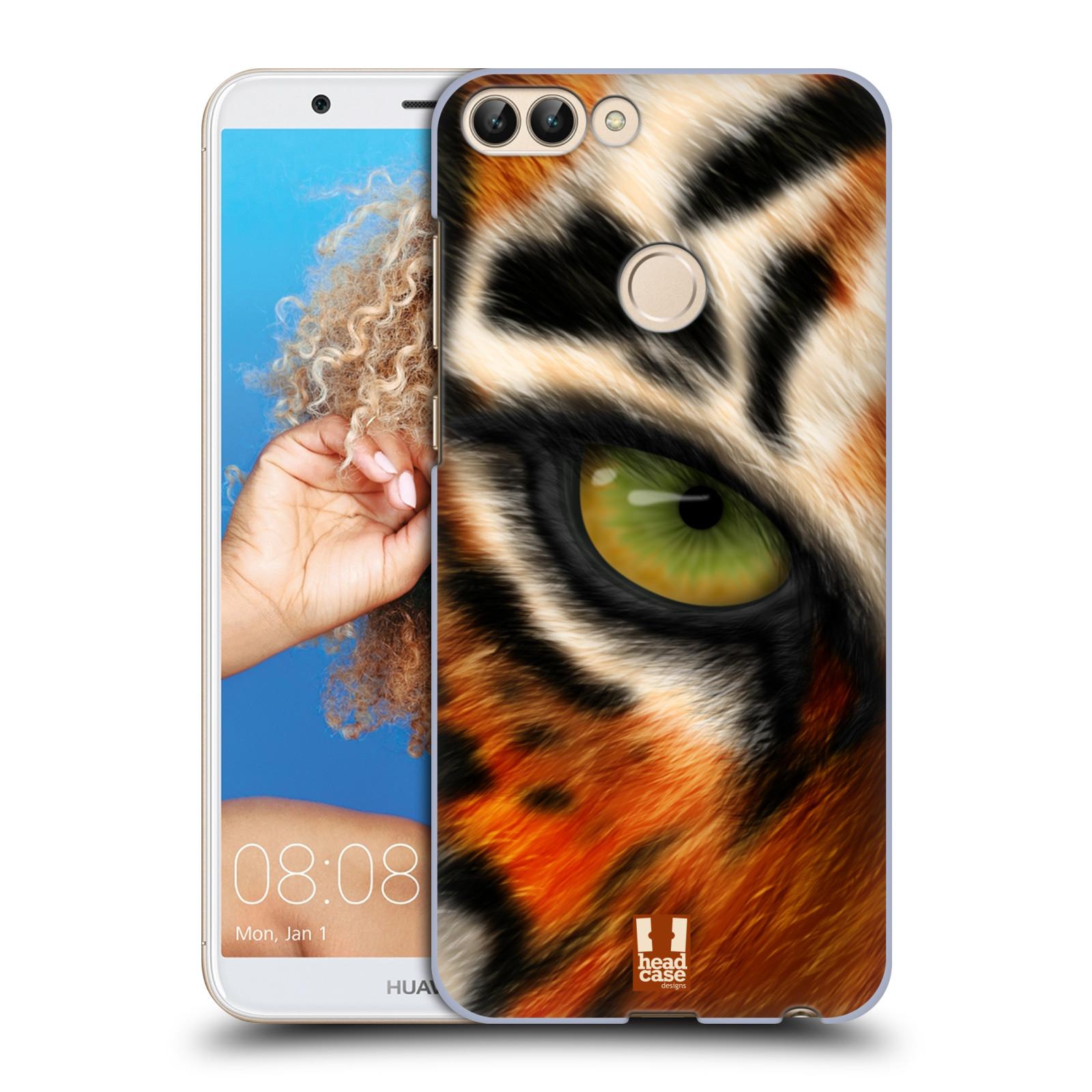HEAD CASE plastový obal na mobil Huawei P Smart vzor pohled zvířete oko tygr