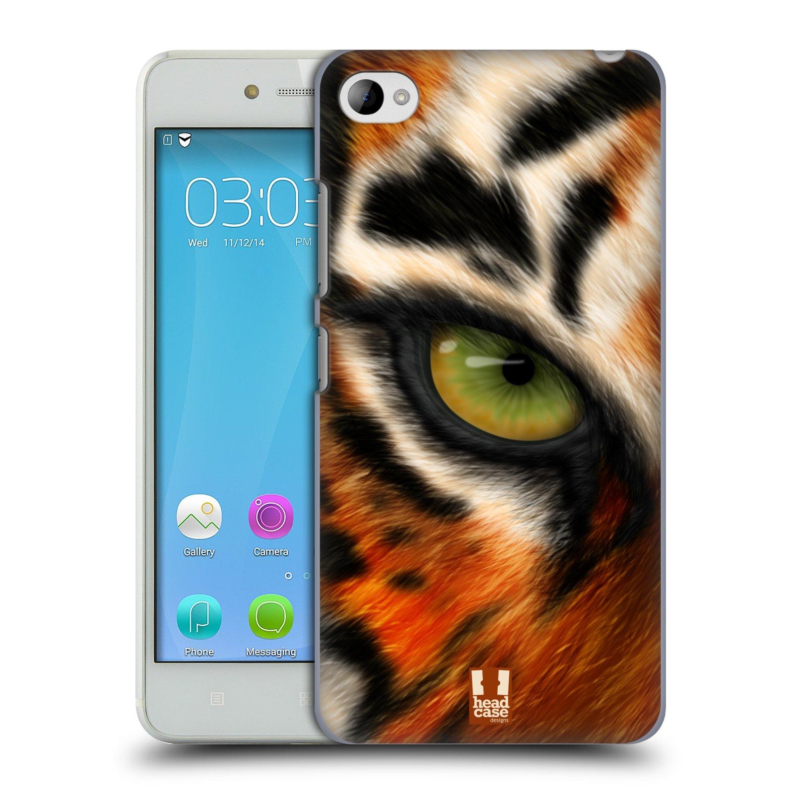 HEAD CASE pevný plastový obal na mobil LENOVO S90 vzor pohled zvířete oko tygr