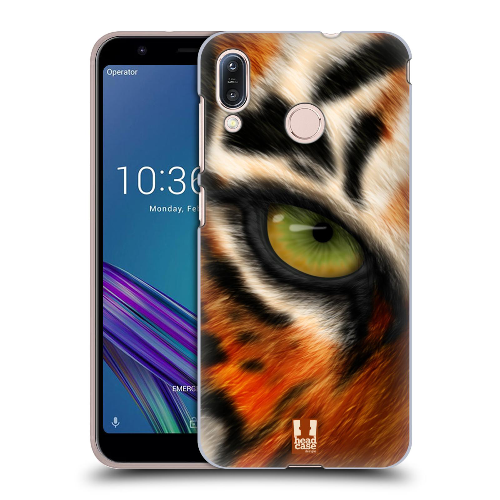Pouzdro na mobil Asus Zenfone Max M1 (ZB555KL) - HEAD CASE - vzor pohled zvířete oko tygr