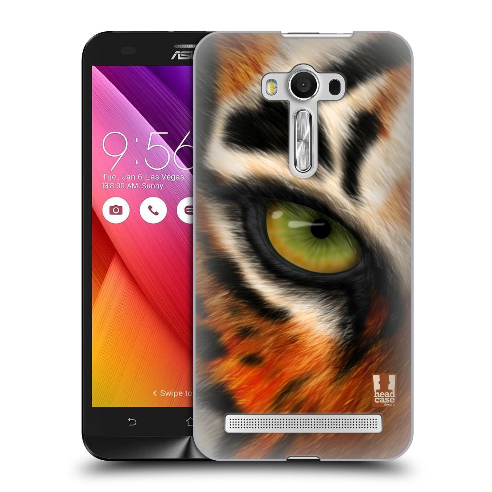 HEAD CASE plastový obal na mobil Asus Zenfone 2 LASER (5,5 displej ZE550KL) vzor pohled zvířete oko tygr