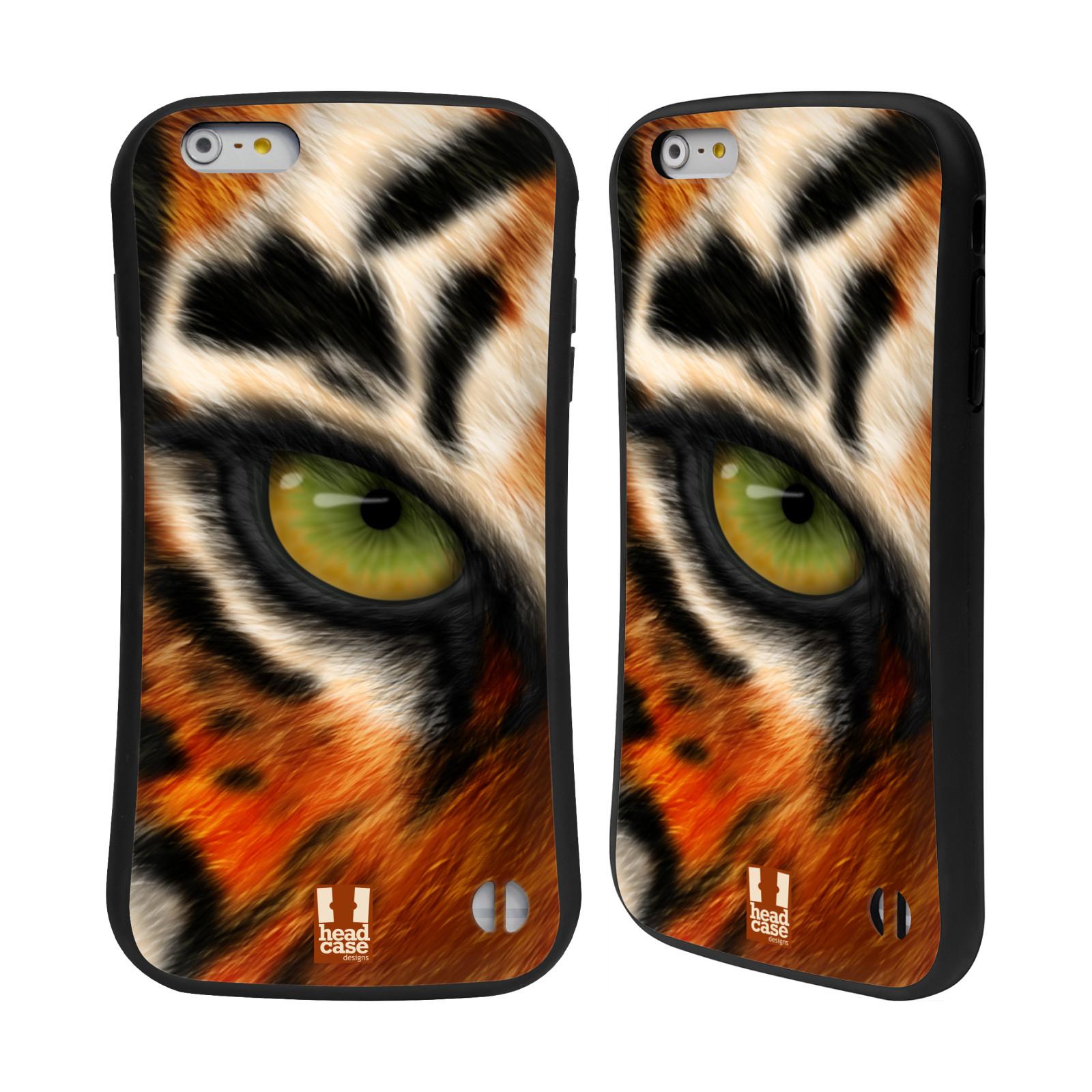 HEAD CASE silikon/plast odolný obal na mobil Apple Iphone 6 PLUS / 6S PLUS vzor pohled zvířete oko tygr