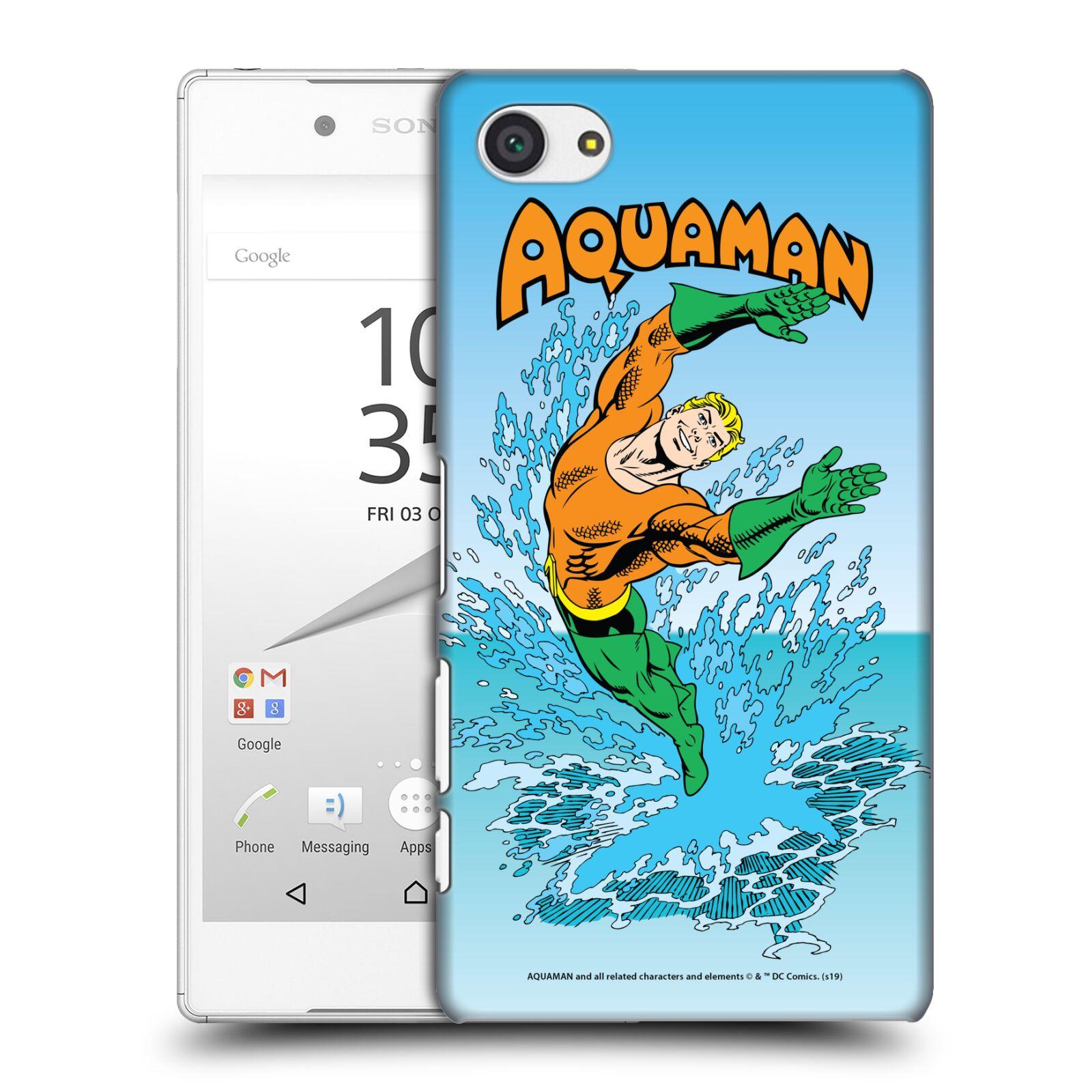 Pouzdro na mobil Sony Xperia Z5 COMPACT - HEAD CASE - DC komix Aquaman
