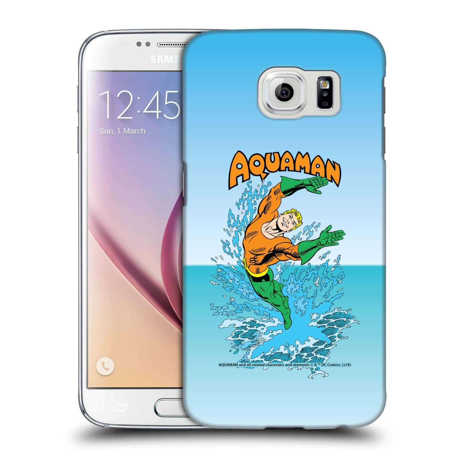 Pouzdro na mobil Samsung Galaxy S6 - HEAD CASE - DC komix Aquaman
