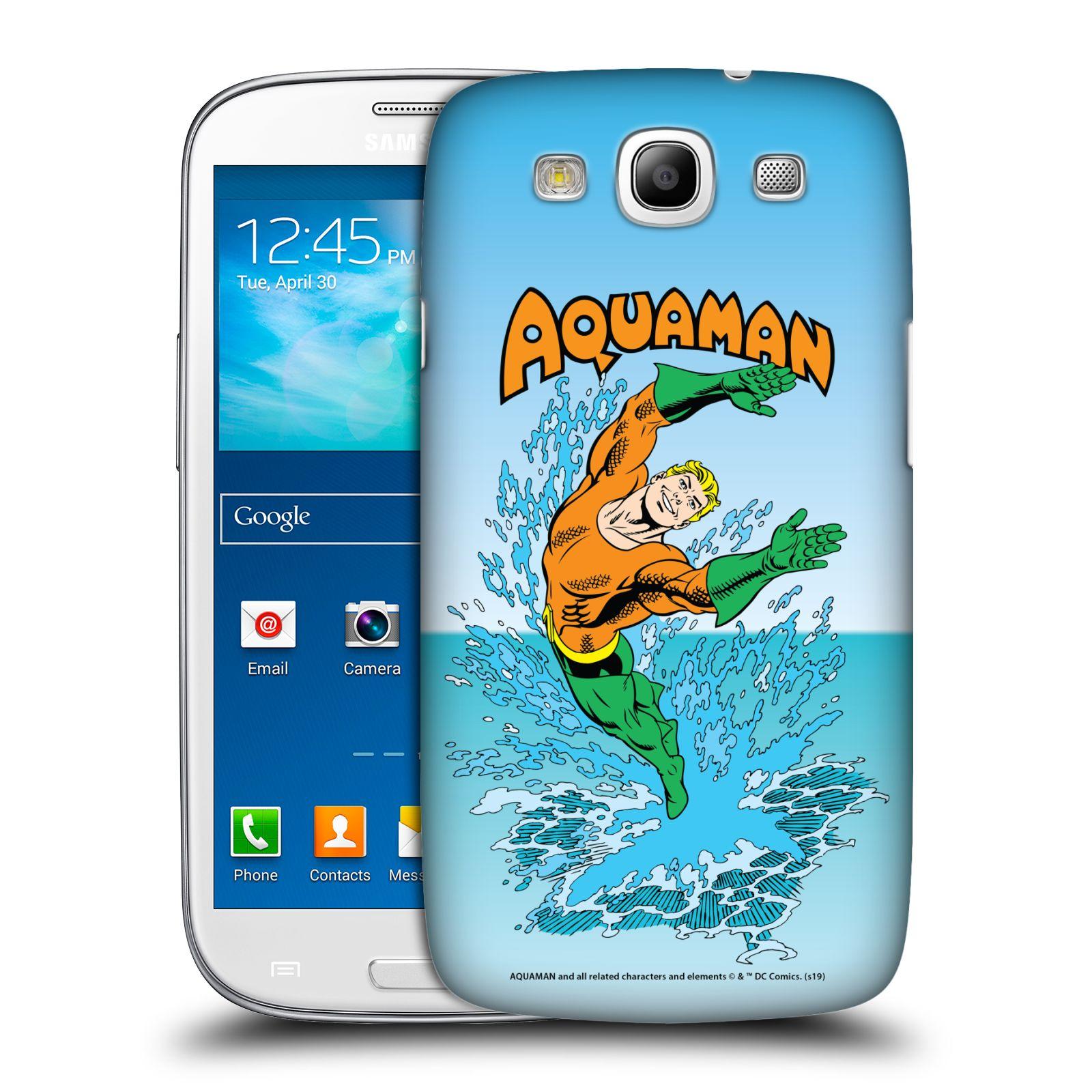 Pouzdro na mobil Samsung Galaxy S3 - HEAD CASE - DC komix Aquaman