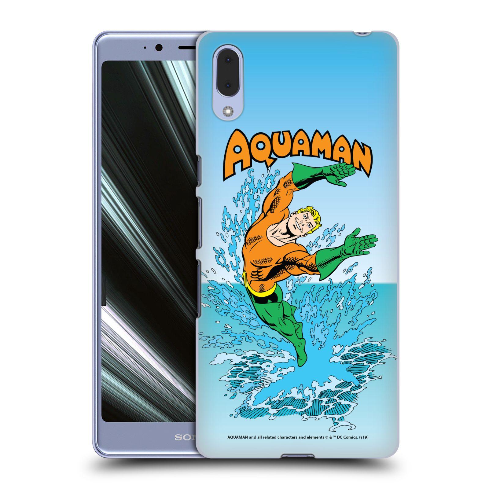 Pouzdro na mobil Sony Xperia L3 - HEAD CASE - DC komix Aquaman