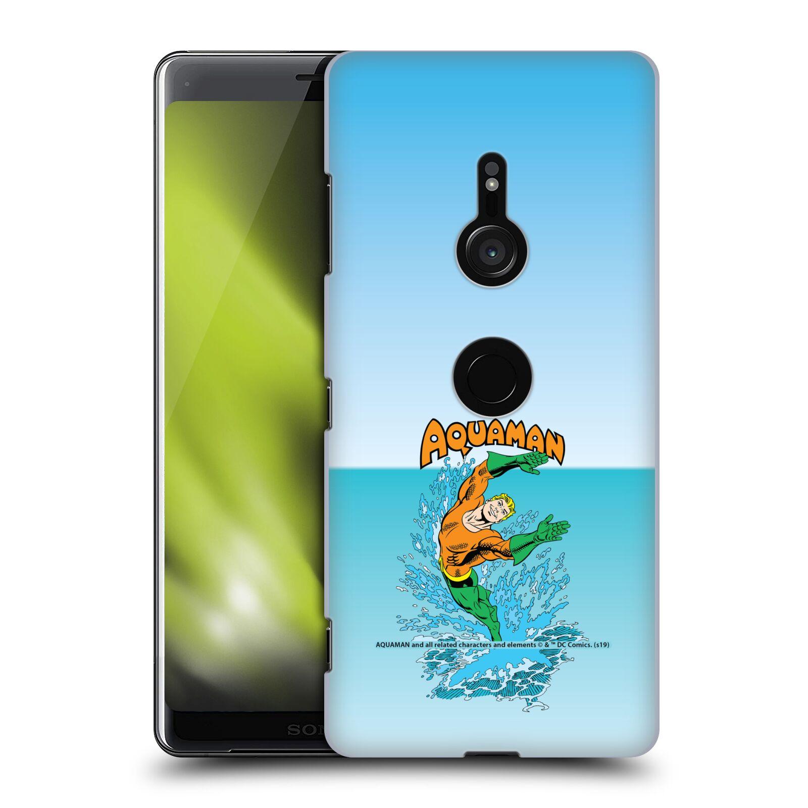 Pouzdro na mobil Sony Xperia XZ3 - HEAD CASE - DC komix Aquaman