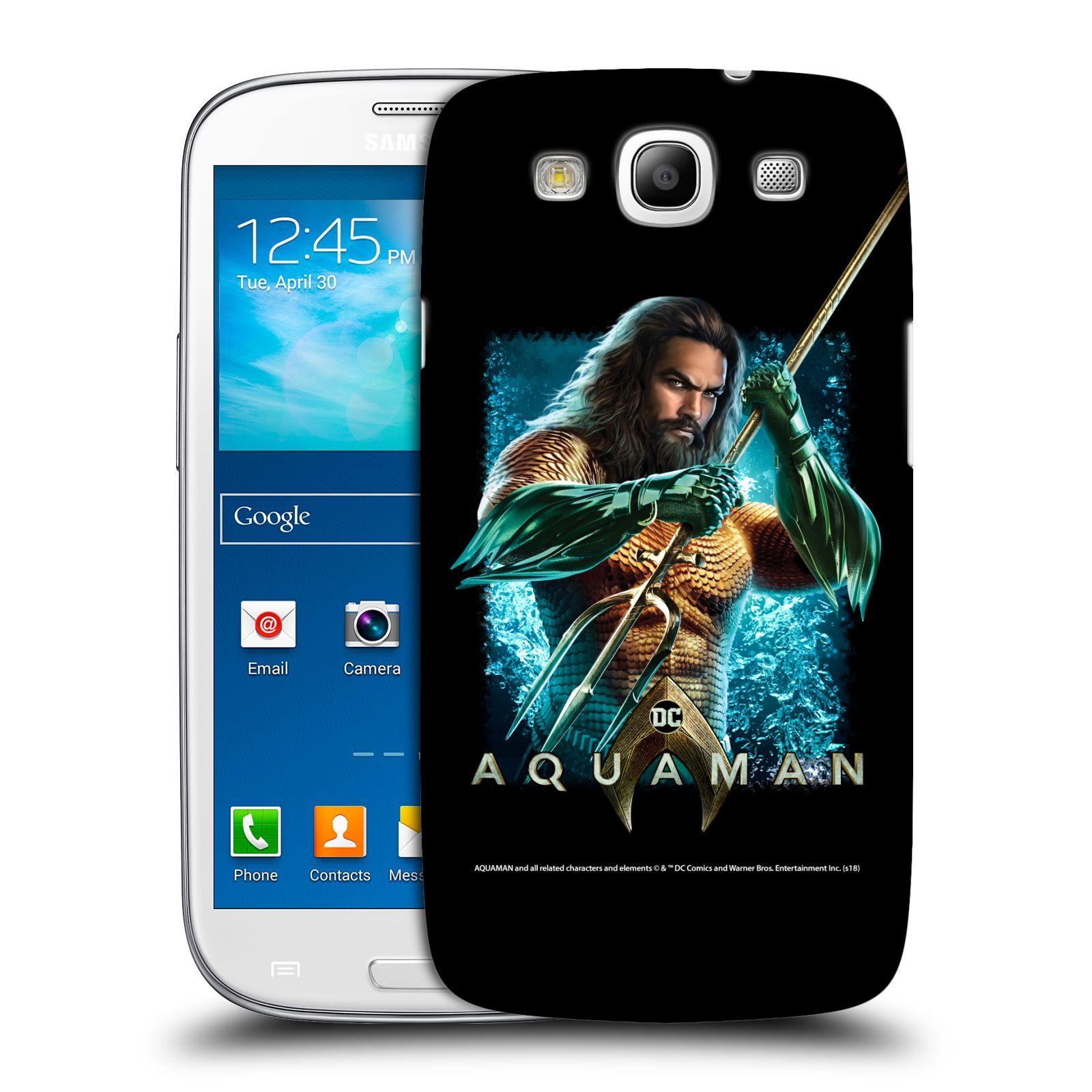 Pouzdro na mobil Samsung Galaxy S3 - HEAD CASE - Aquaman bojová pozice