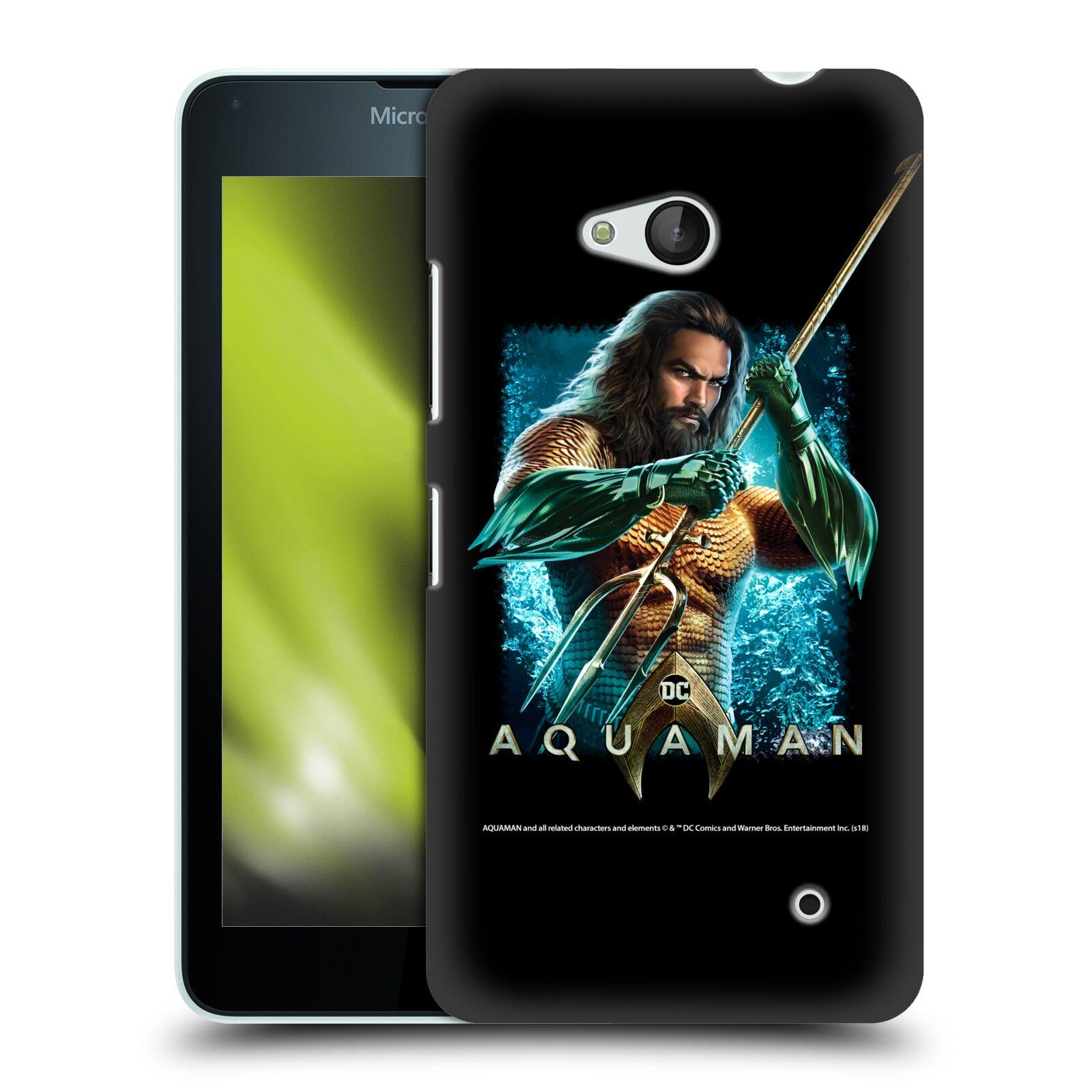 Pouzdro na mobil Microsoft Lumia 640 / 640 DUAL SIM - HEAD CASE - Aquaman bojová pozice