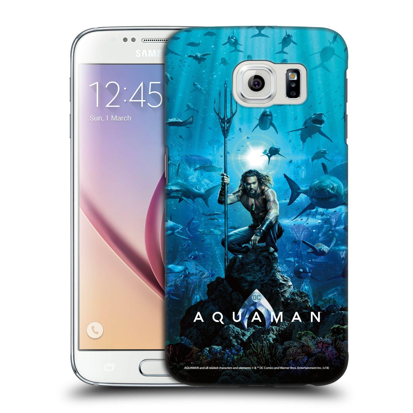 Pouzdro na mobil Samsung Galaxy S6 - HEAD CASE - Aquaman trojzubec