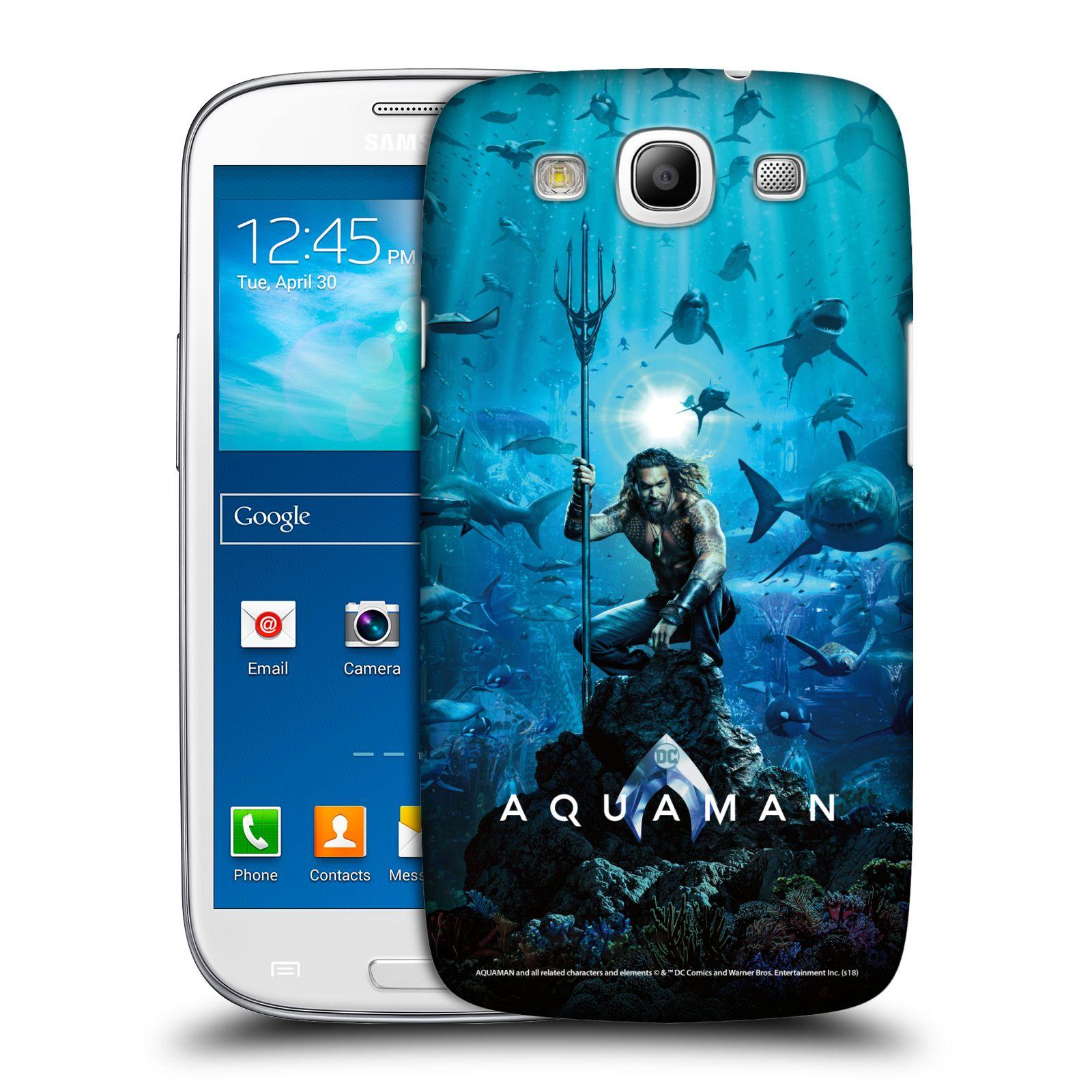Pouzdro na mobil Samsung Galaxy S3 - HEAD CASE - Aquaman trojzubec