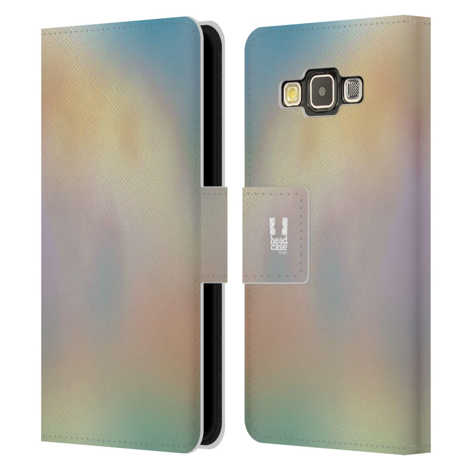 HEAD CASE Flipové pouzdro pro mobil Samsung Galaxy A3 AQUAREL barvy CHILL
