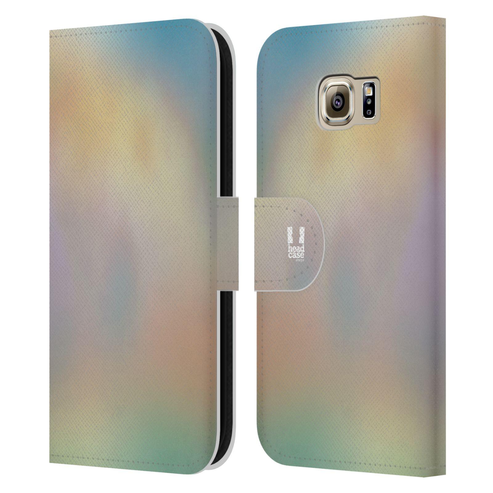 HEAD CASE Flipové pouzdro pro mobil Samsung Galaxy S6 (G9200) AQUAREL barvy CHILL
