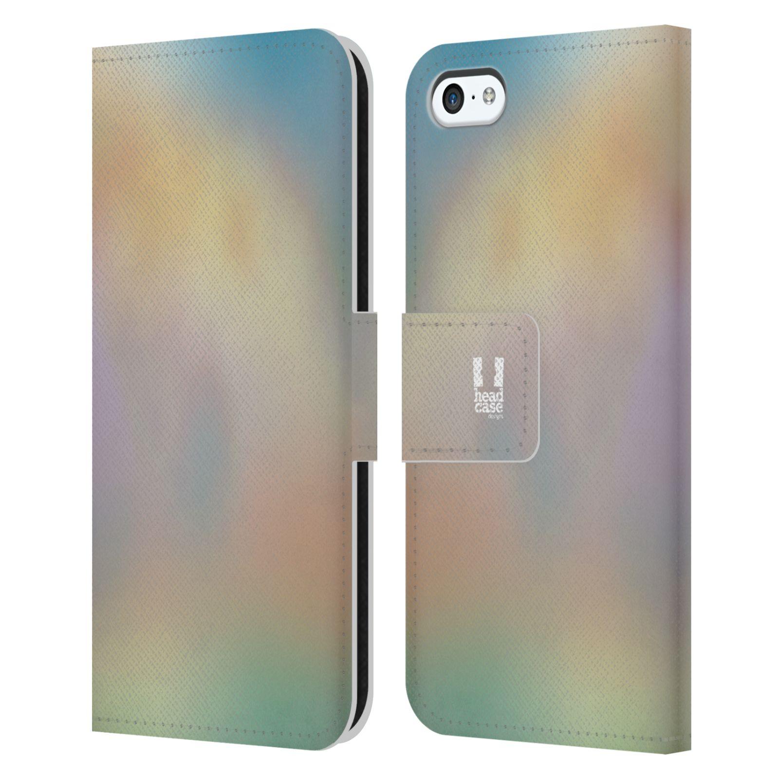 HEAD CASE Flipové pouzdro pro mobil Apple Iphone 5C AQUAREL barvy CHILL