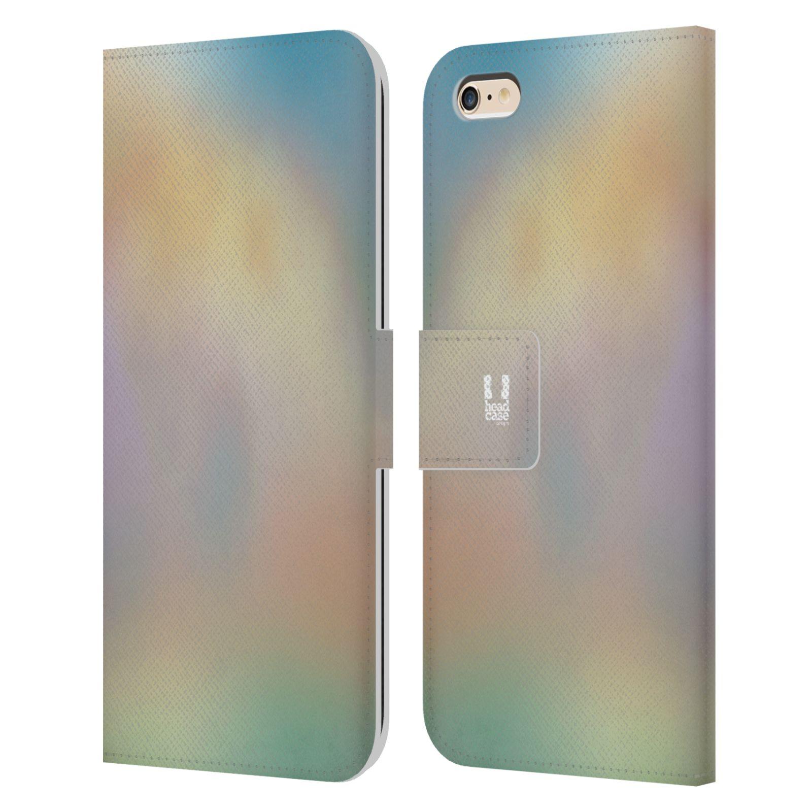 HEAD CASE Flipové pouzdro pro mobil Apple Iphone 6 PLUS / 6S PLUS AQUAREL barvy CHILL