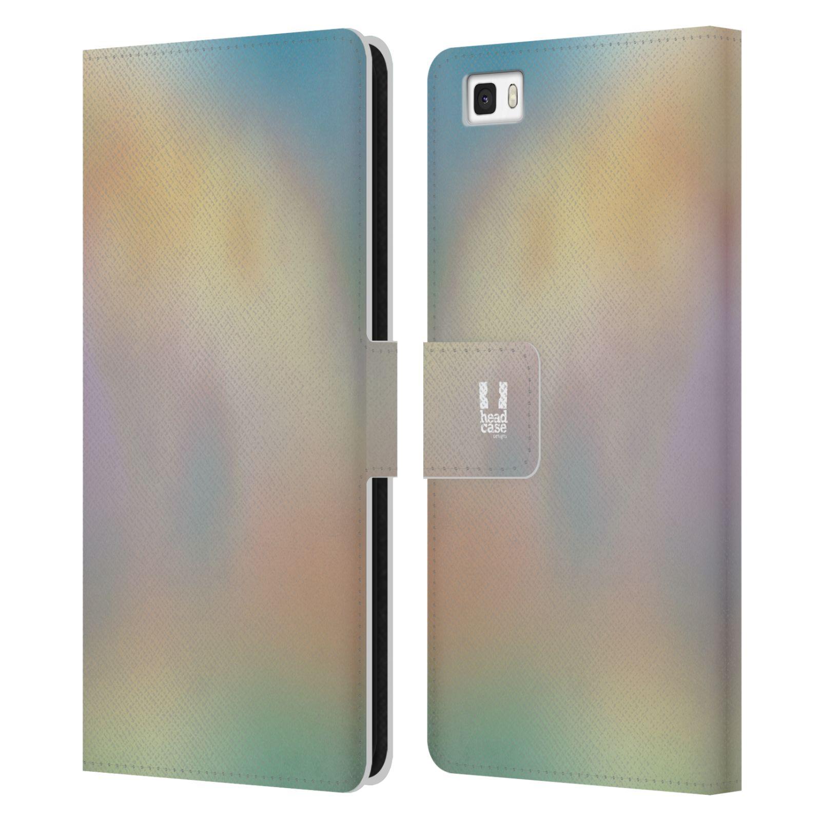 HEAD CASE Flipové pouzdro pro mobil Huawei P8 LITE AQUAREL barvy CHILL