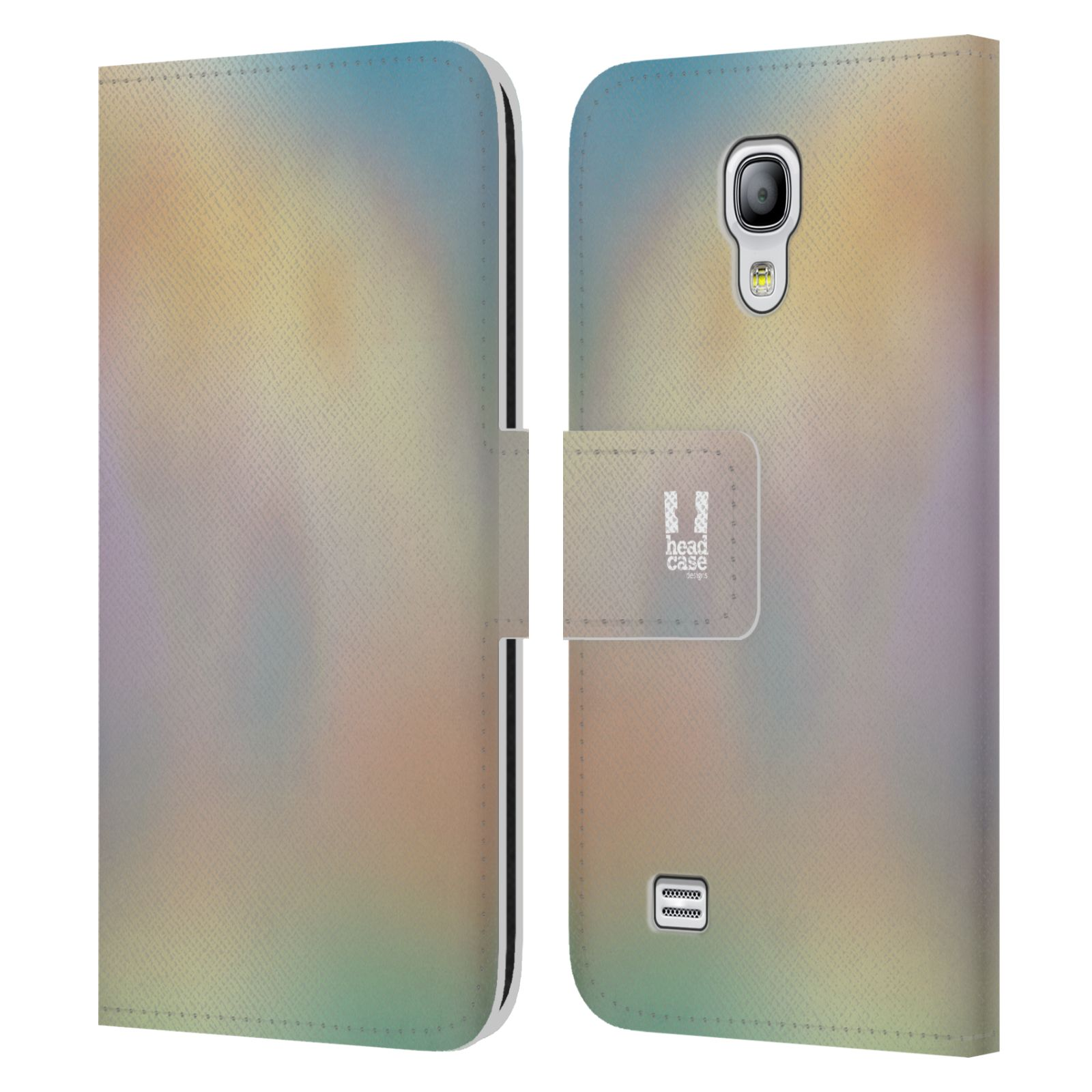 HEAD CASE Flipové pouzdro pro mobil Samsung Galaxy S4 MINI / S4 MINI DUOS AQUAREL barvy CHILL