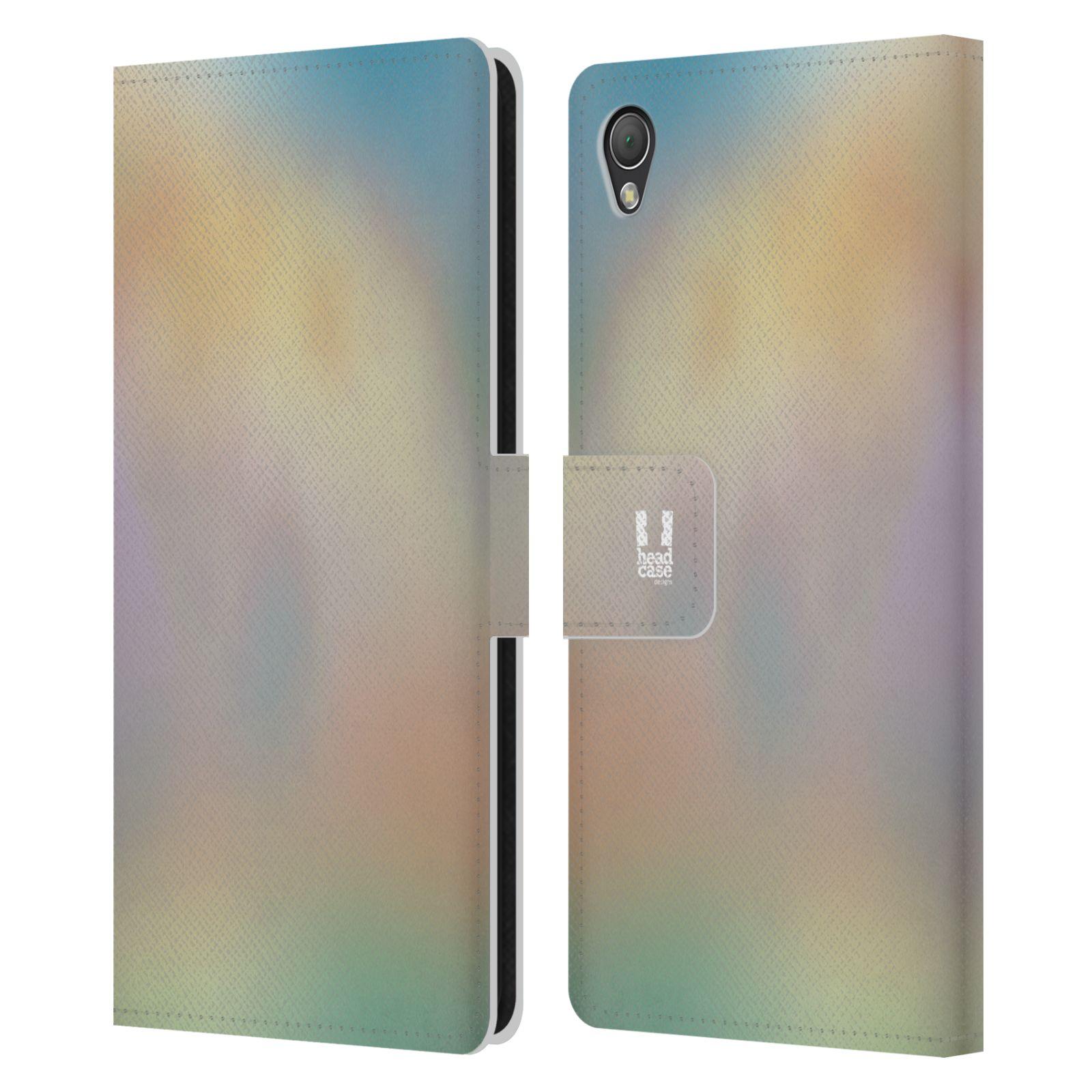 HEAD CASE Flipové pouzdro pro mobil SONY XPERIA Z3 AQUAREL barvy CHILL