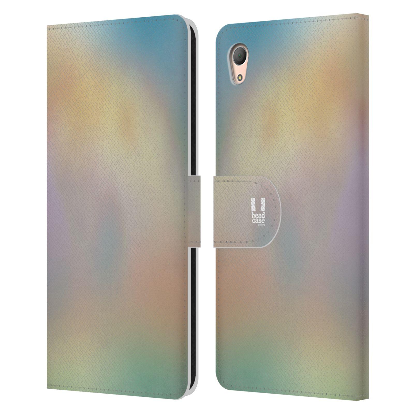 HEAD CASE Flipové pouzdro pro mobil SONY XPERIA Z3+ (PLUS) AQUAREL barvy CHILL