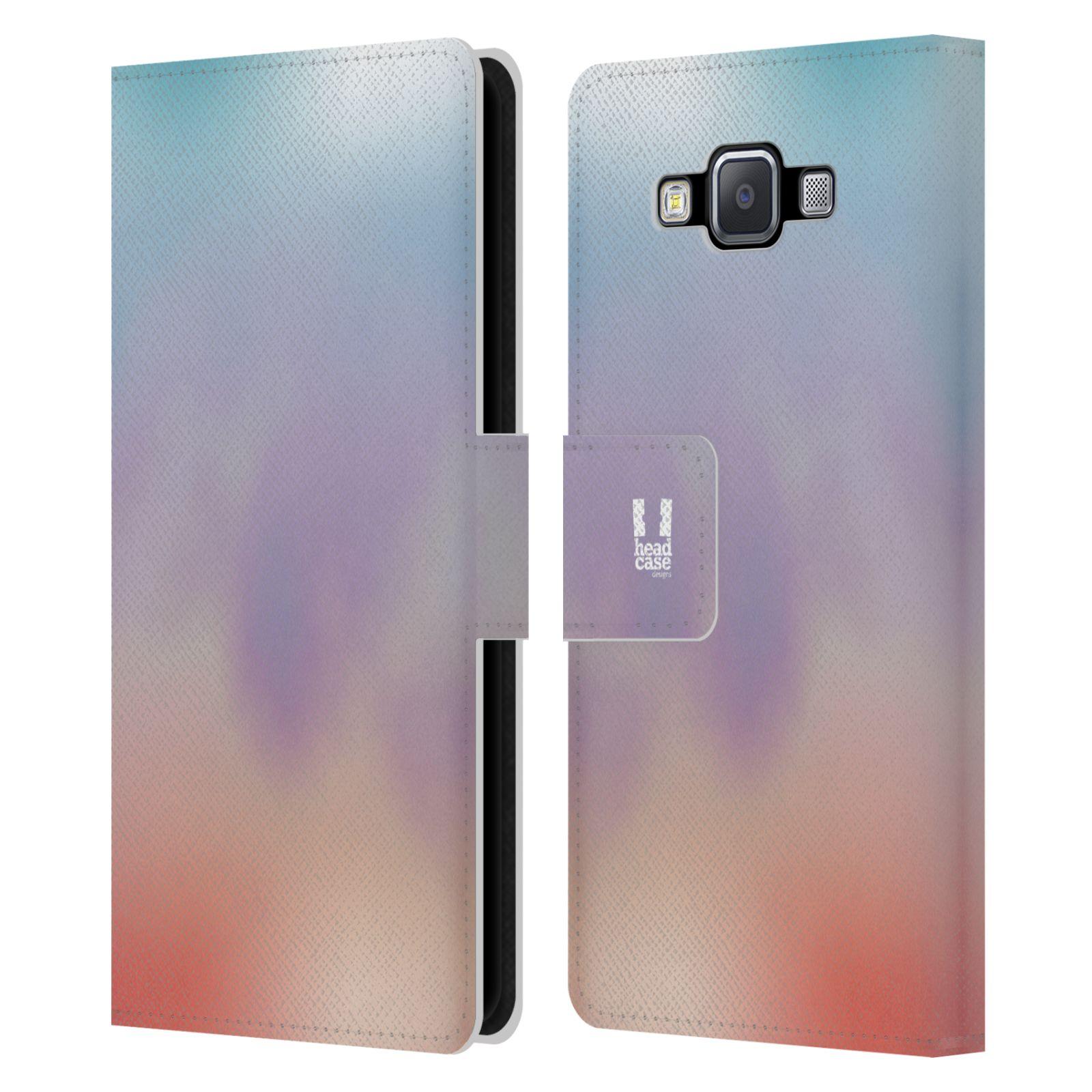 HEAD CASE Flipové pouzdro pro mobil Samsung Galaxy A5 AQUAREL barvy LIGHT