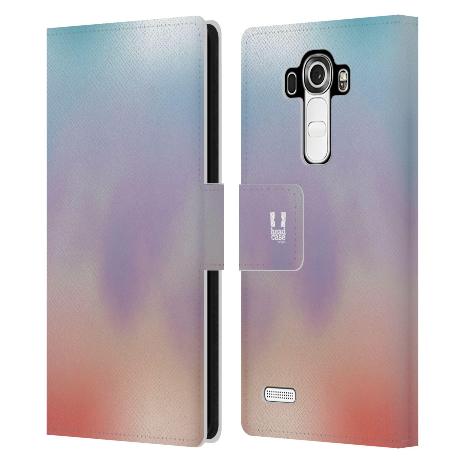 HEAD CASE Flipové pouzdro pro mobil LG G4 (H815) AQUAREL barvy LIGHT