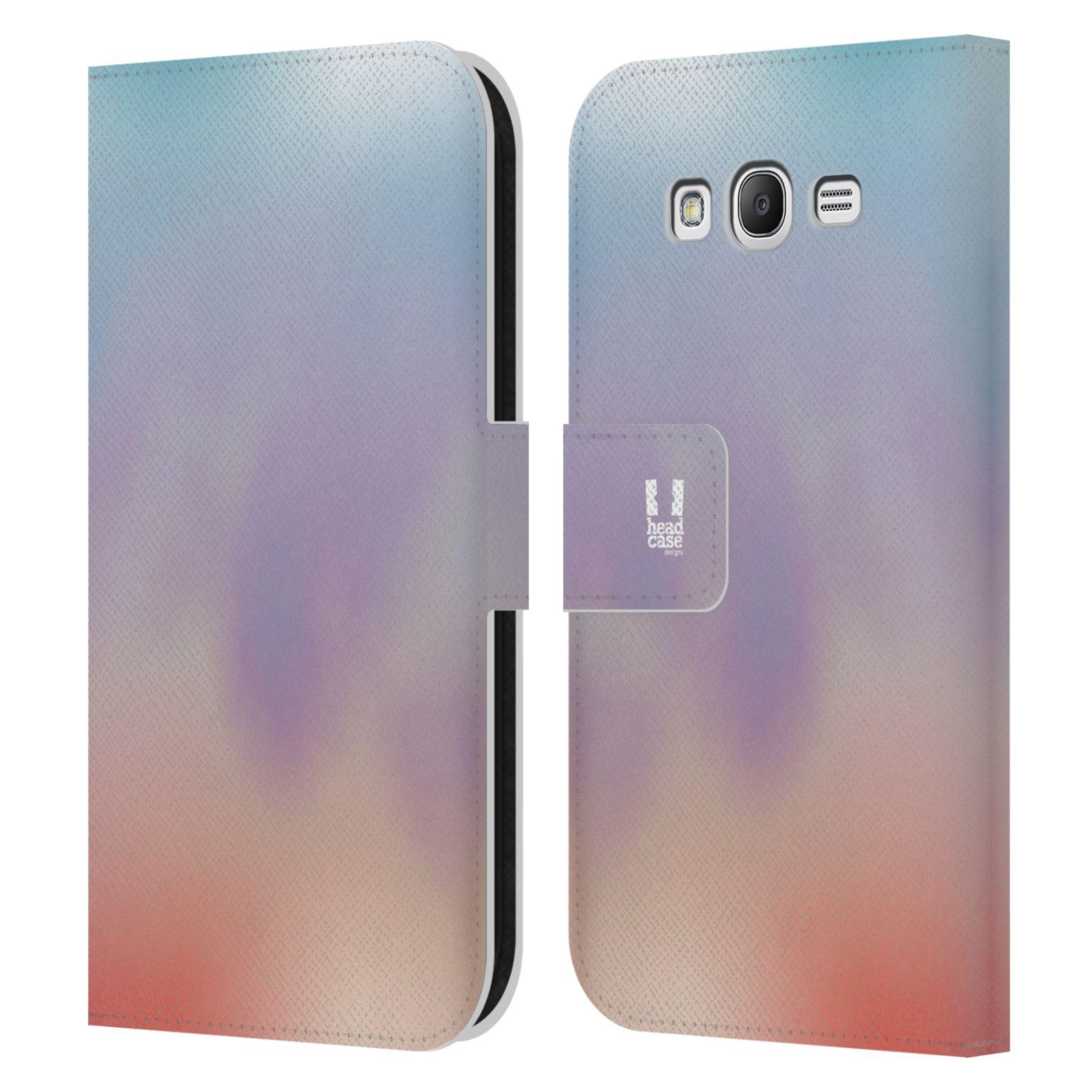 HEAD CASE Flipové pouzdro pro mobil Samsung Galaxy Grand i9080 AQUAREL barvy LIGHT