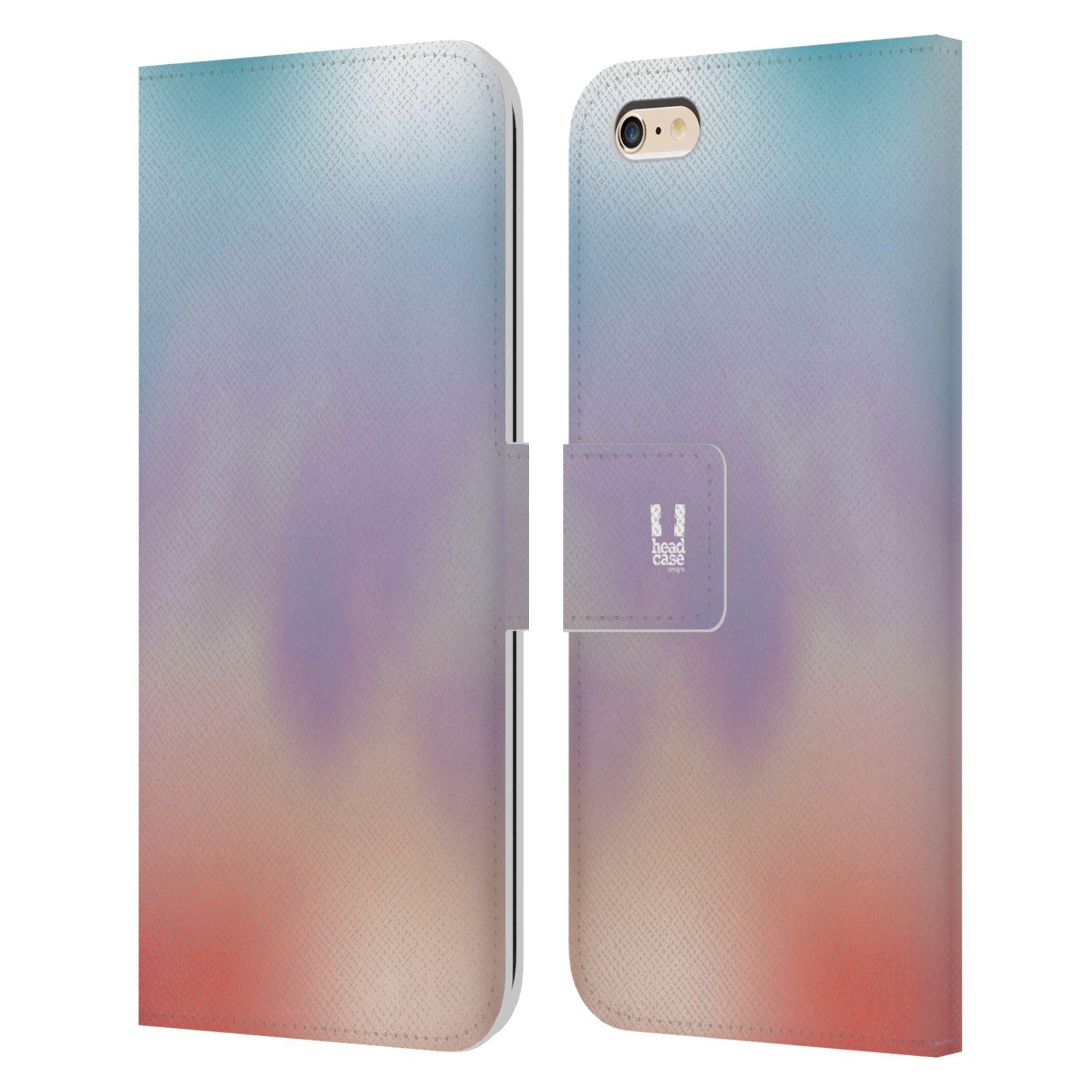 HEAD CASE Flipové pouzdro pro mobil Apple Iphone 6 PLUS / 6S PLUS AQUAREL barvy LIGHT