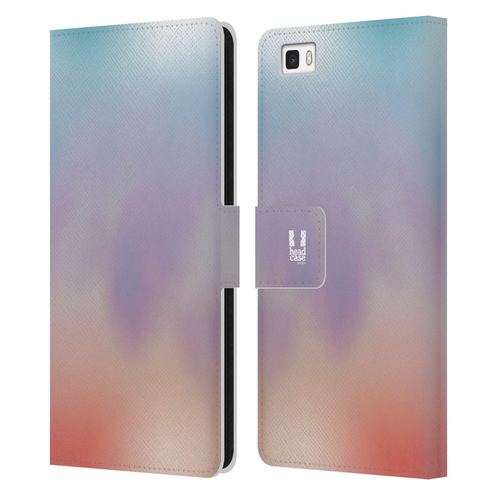 HEAD CASE Flipové pouzdro pro mobil Huawei P8 LITE AQUAREL barvy LIGHT