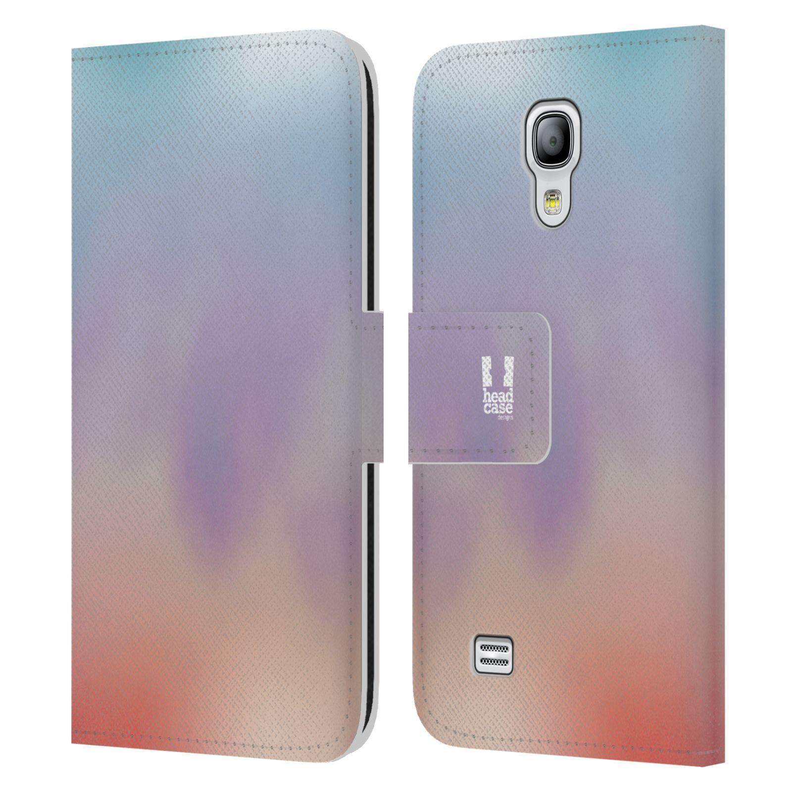 HEAD CASE Flipové pouzdro pro mobil Samsung Galaxy S4 MINI / S4 MINI DUOS AQUAREL barvy LIGHT