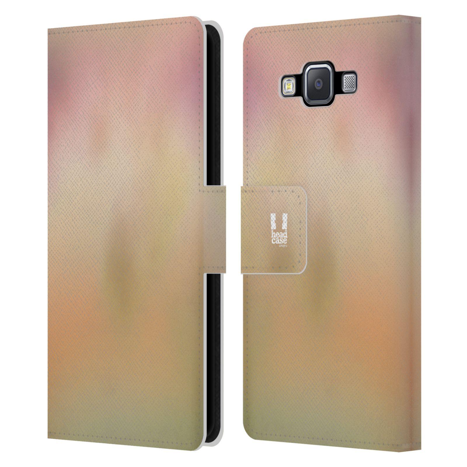 HEAD CASE Flipové pouzdro pro mobil Samsung Galaxy A5 AQUAREL barvy NOSTALGIE