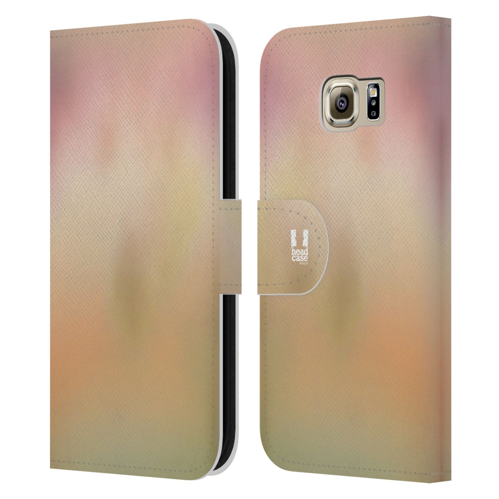 HEAD CASE Flipové pouzdro pro mobil Samsung Galaxy S6 (G9200) AQUAREL barvy NOSTALGIE