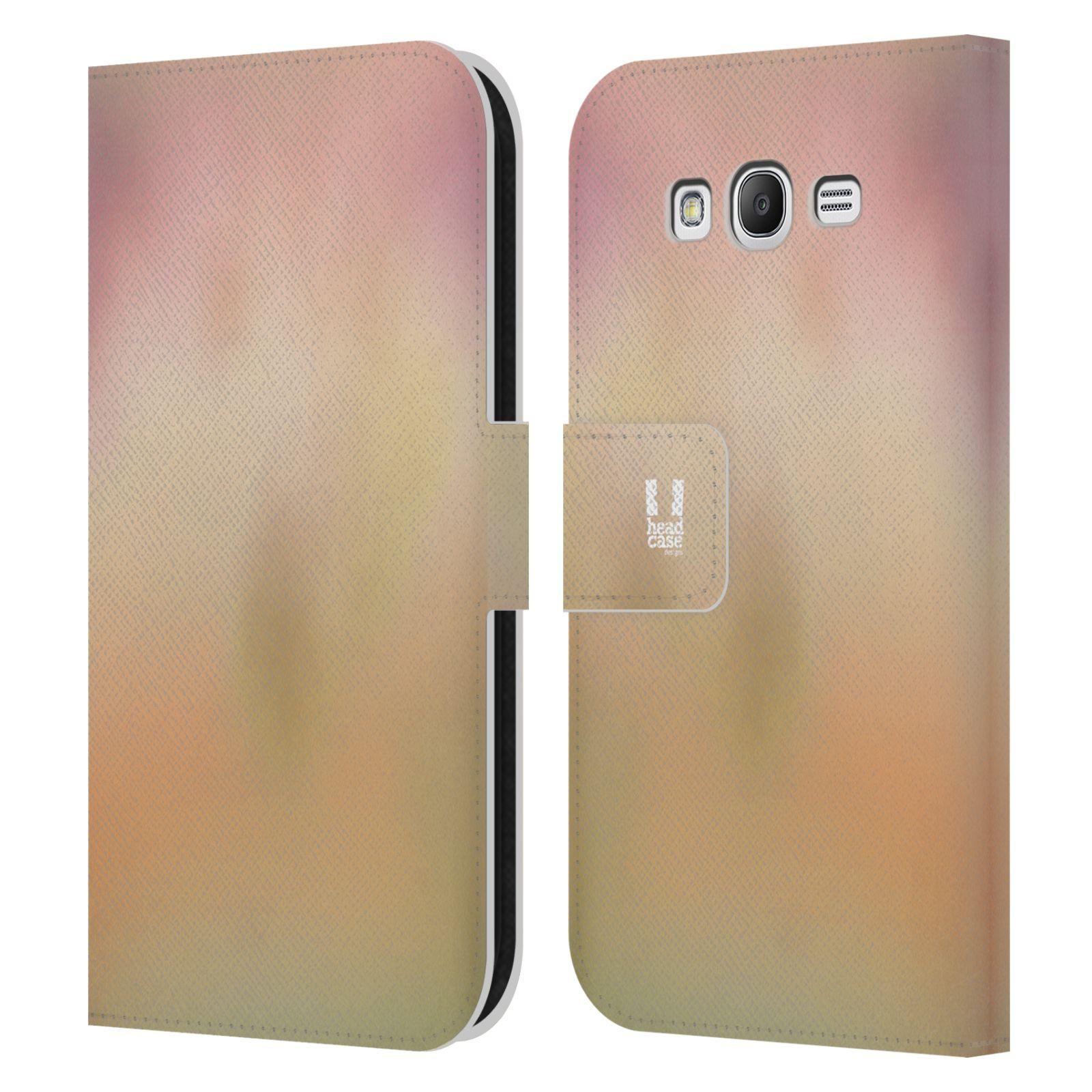 HEAD CASE Flipové pouzdro pro mobil Samsung Galaxy Grand i9080 AQUAREL barvy NOSTALGIE