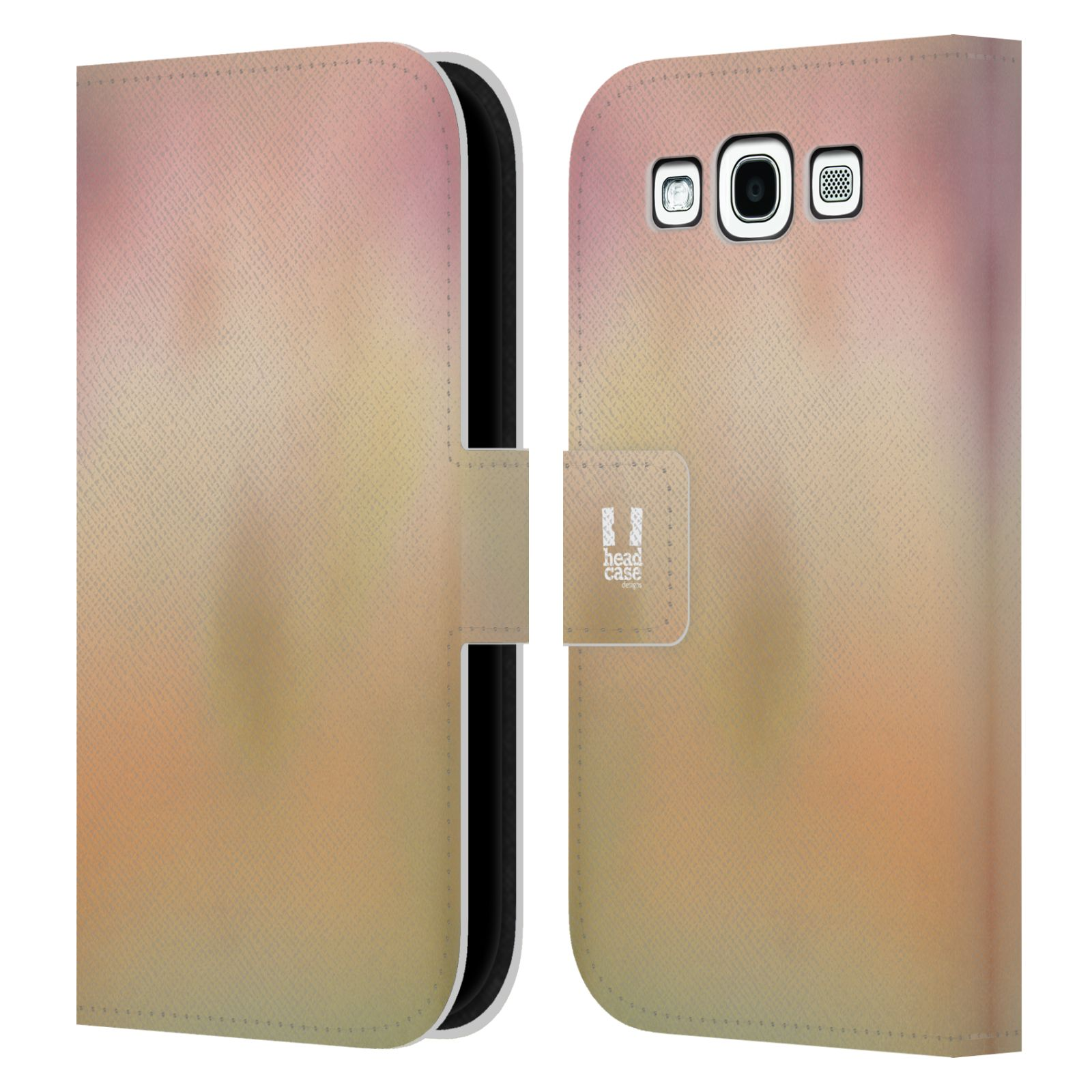 HEAD CASE Flipové pouzdro pro mobil Samsung Galaxy S3 AQUAREL barvy NOSTALGIE