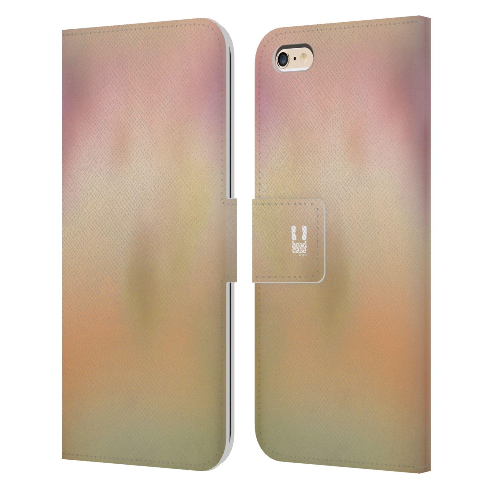 HEAD CASE Flipové pouzdro pro mobil Apple Iphone 6 PLUS / 6S PLUS AQUAREL barvy NOSTALGIE