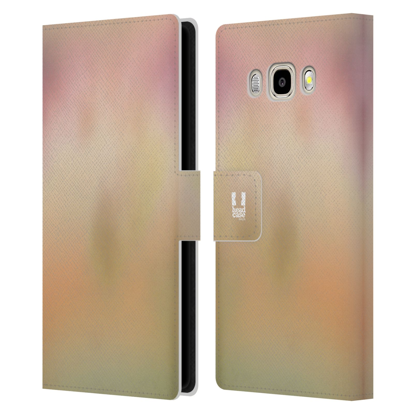HEAD CASE Flipové pouzdro pro mobil Samsung Galaxy J5 2016 AQUAREL barvy NOSTALGIE