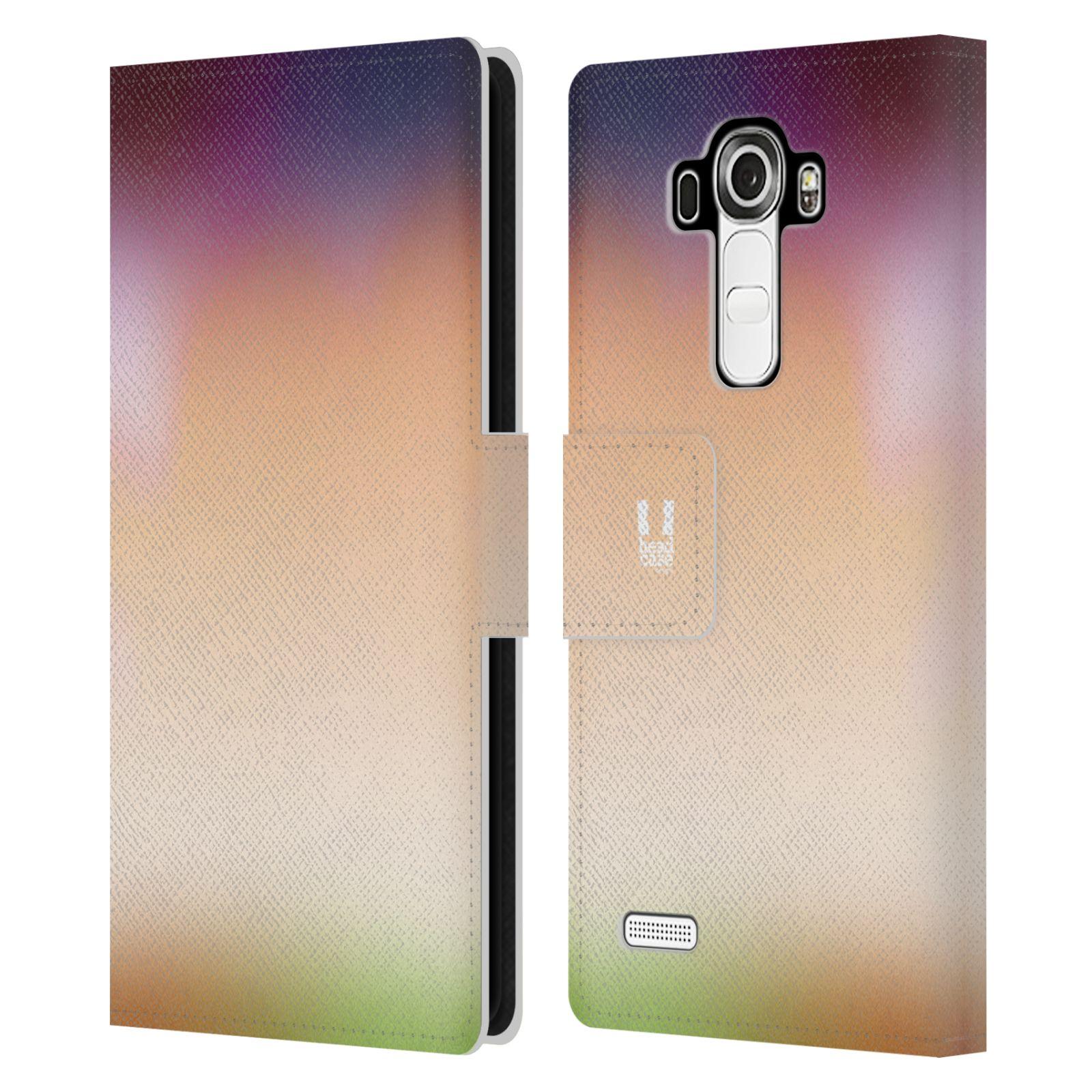 HEAD CASE Flipové pouzdro pro mobil LG G4 (H815) AQUAREL barvy SLUNCE
