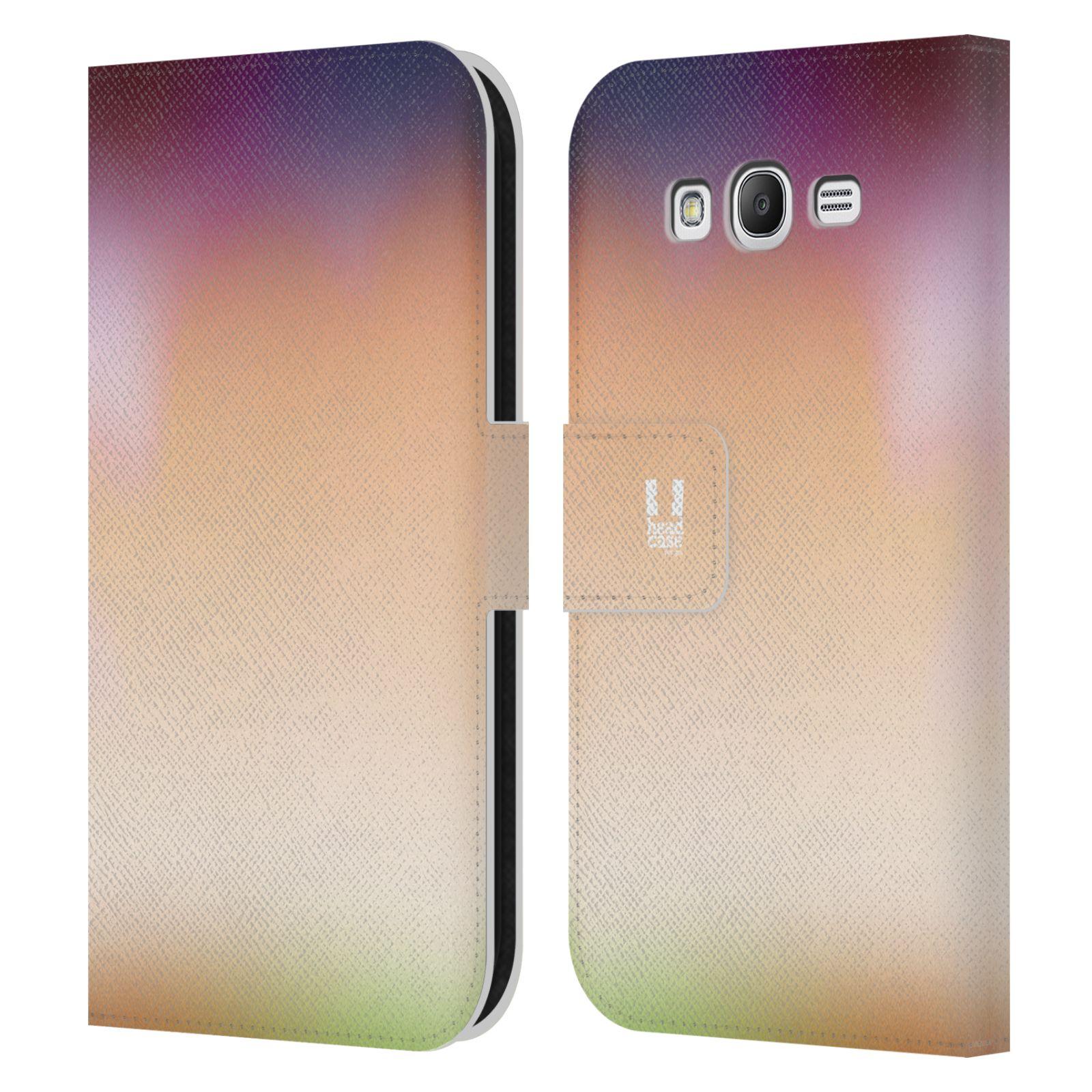 HEAD CASE Flipové pouzdro pro mobil Samsung Galaxy Grand i9080 AQUAREL barvy SLUNCE