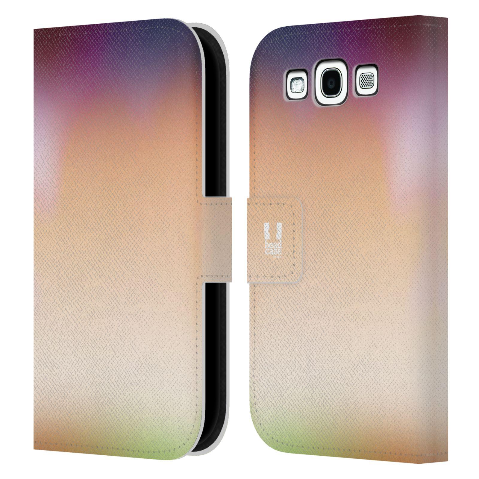 HEAD CASE Flipové pouzdro pro mobil Samsung Galaxy S3 AQUAREL barvy SLUNCE
