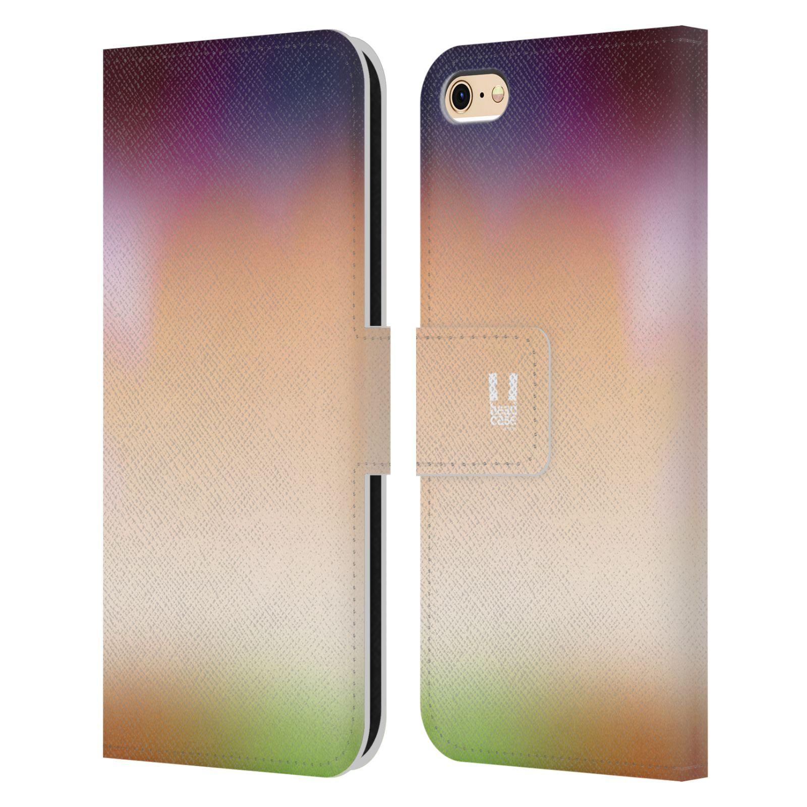 HEAD CASE Flipové pouzdro pro mobil Apple Iphone 6/6s AQUAREL barvy SLUNCE