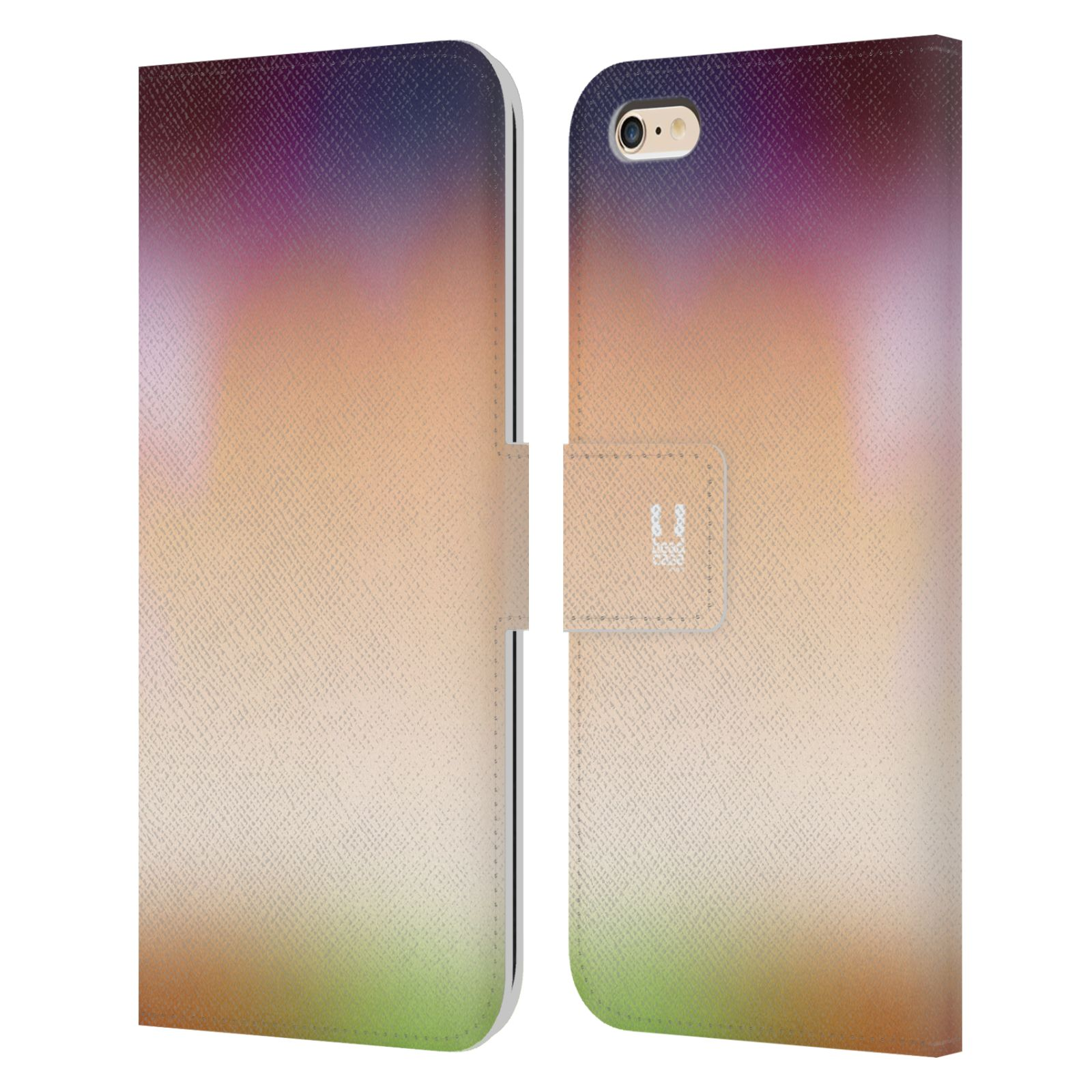 HEAD CASE Flipové pouzdro pro mobil Apple Iphone 6 PLUS / 6S PLUS AQUAREL barvy SLUNCE
