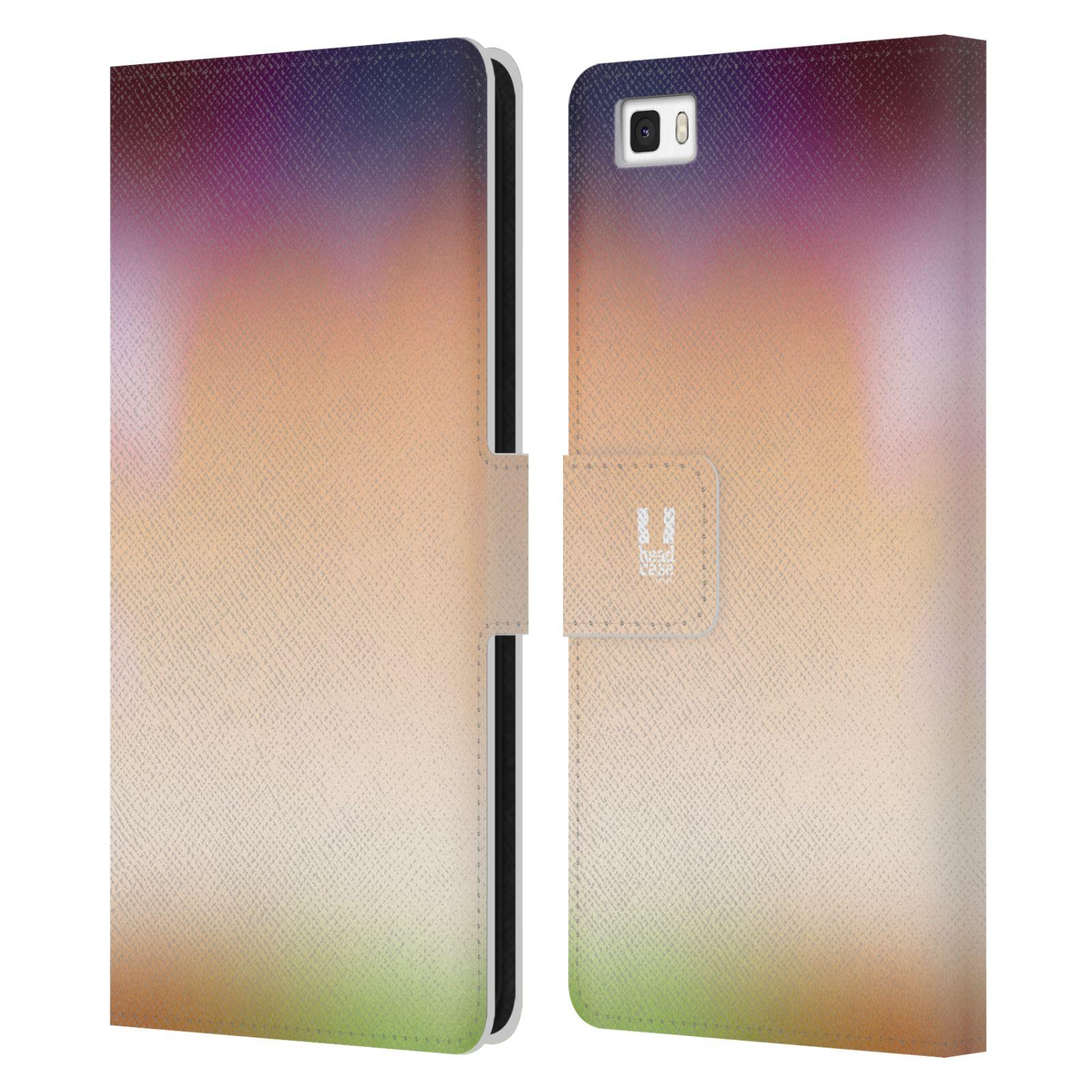 HEAD CASE Flipové pouzdro pro mobil Huawei P8 LITE AQUAREL barvy SLUNCE