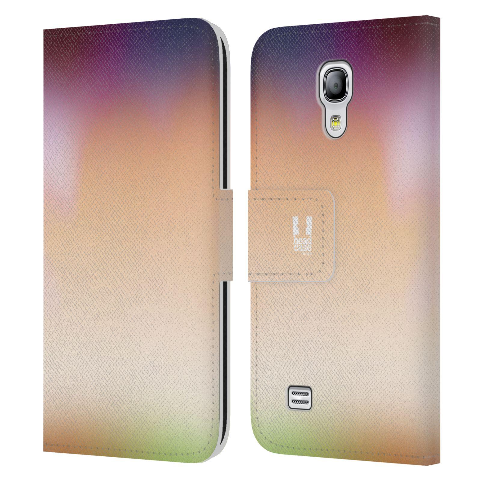 HEAD CASE Flipové pouzdro pro mobil Samsung Galaxy S4 MINI / S4 MINI DUOS AQUAREL barvy SLUNCE