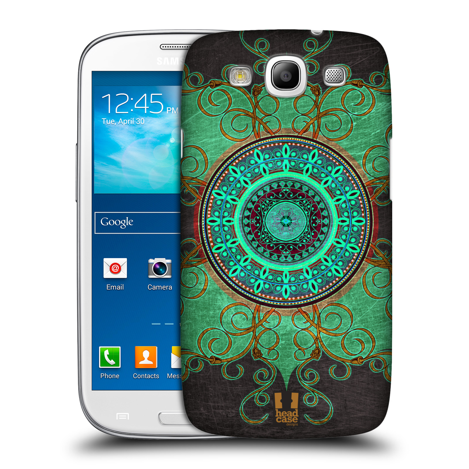 HEAD CASE ARABESQUE PATTERN PROTECTIVE COVER FOR SAMSUNG GALAXY S3 III I9300